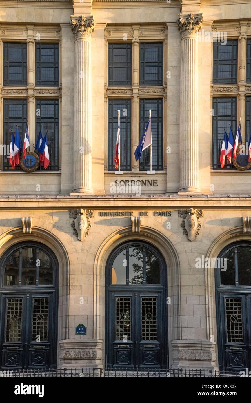 Sorbonne University of Paris, France - Stock Image