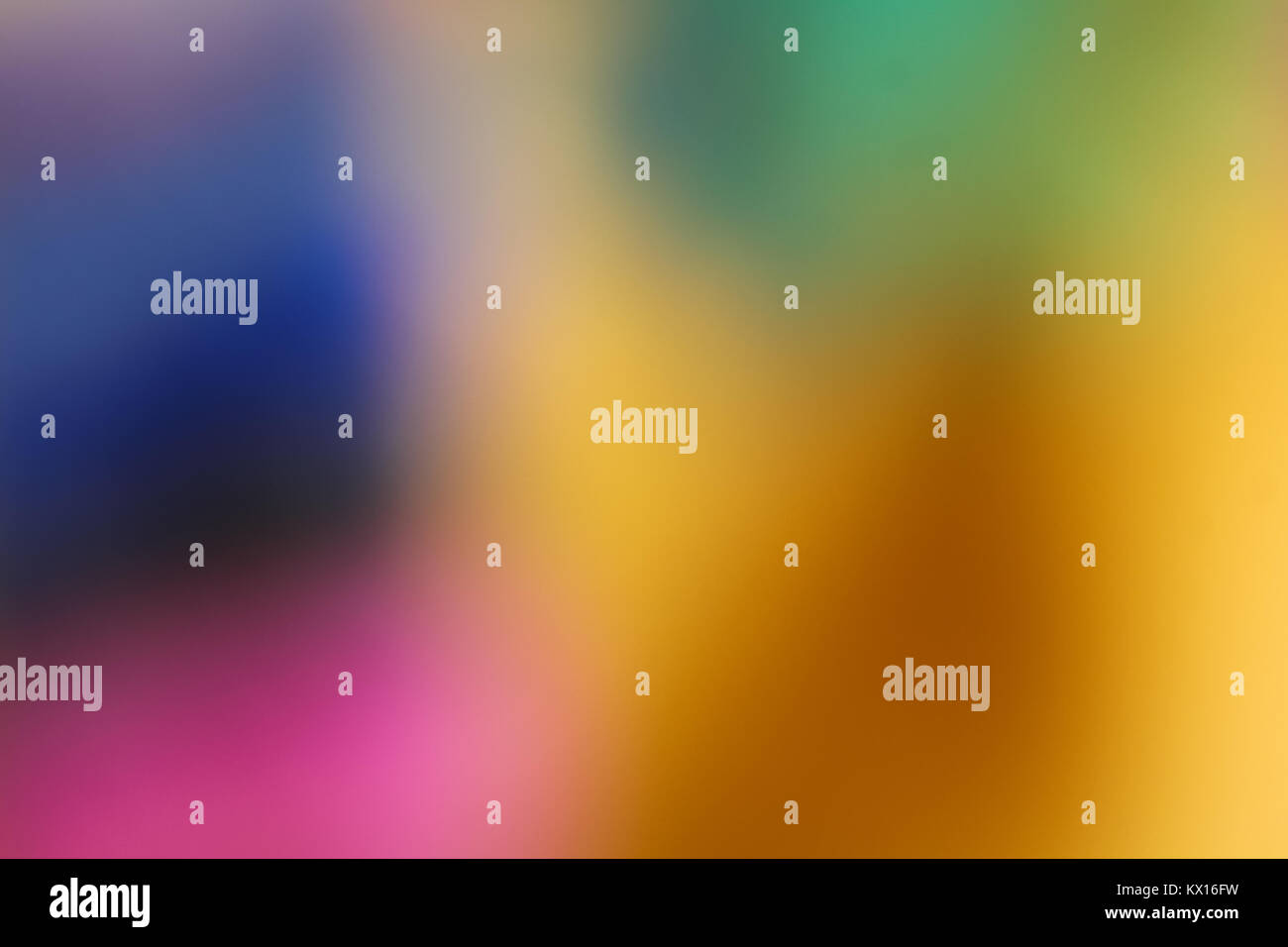abstract colorful blurred background - Stock Image