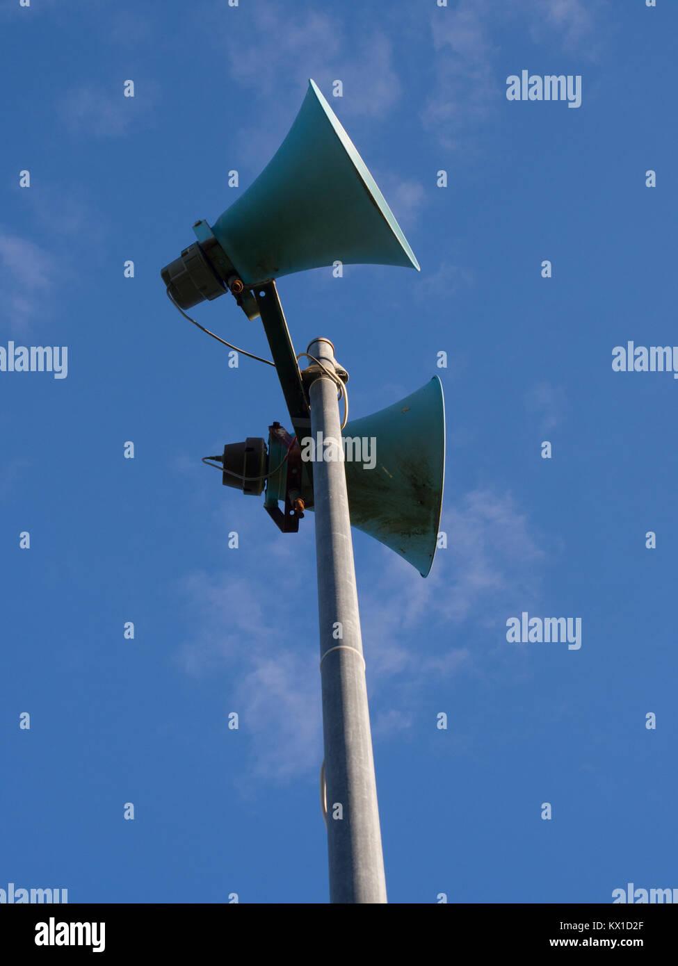 Loud Speakers - Stock Image