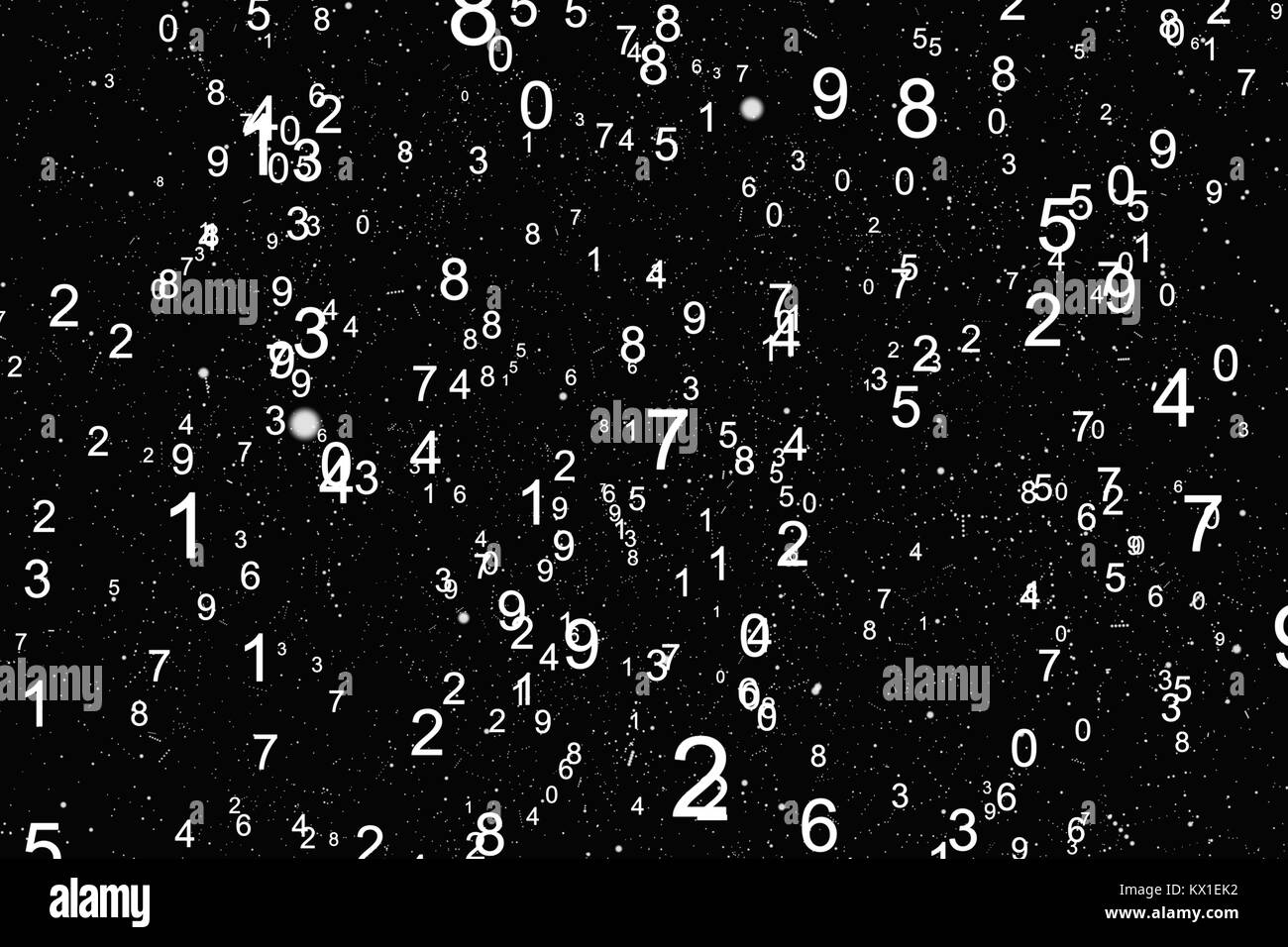 Abstract math number background Stock Photo: 170907830 - Alamy