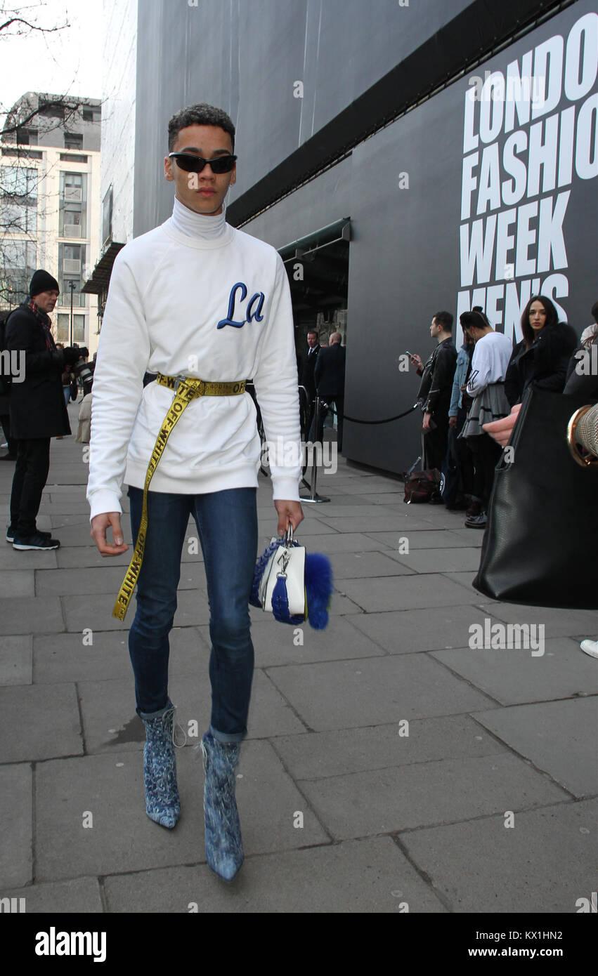 London Men S Fashion Week Street Style