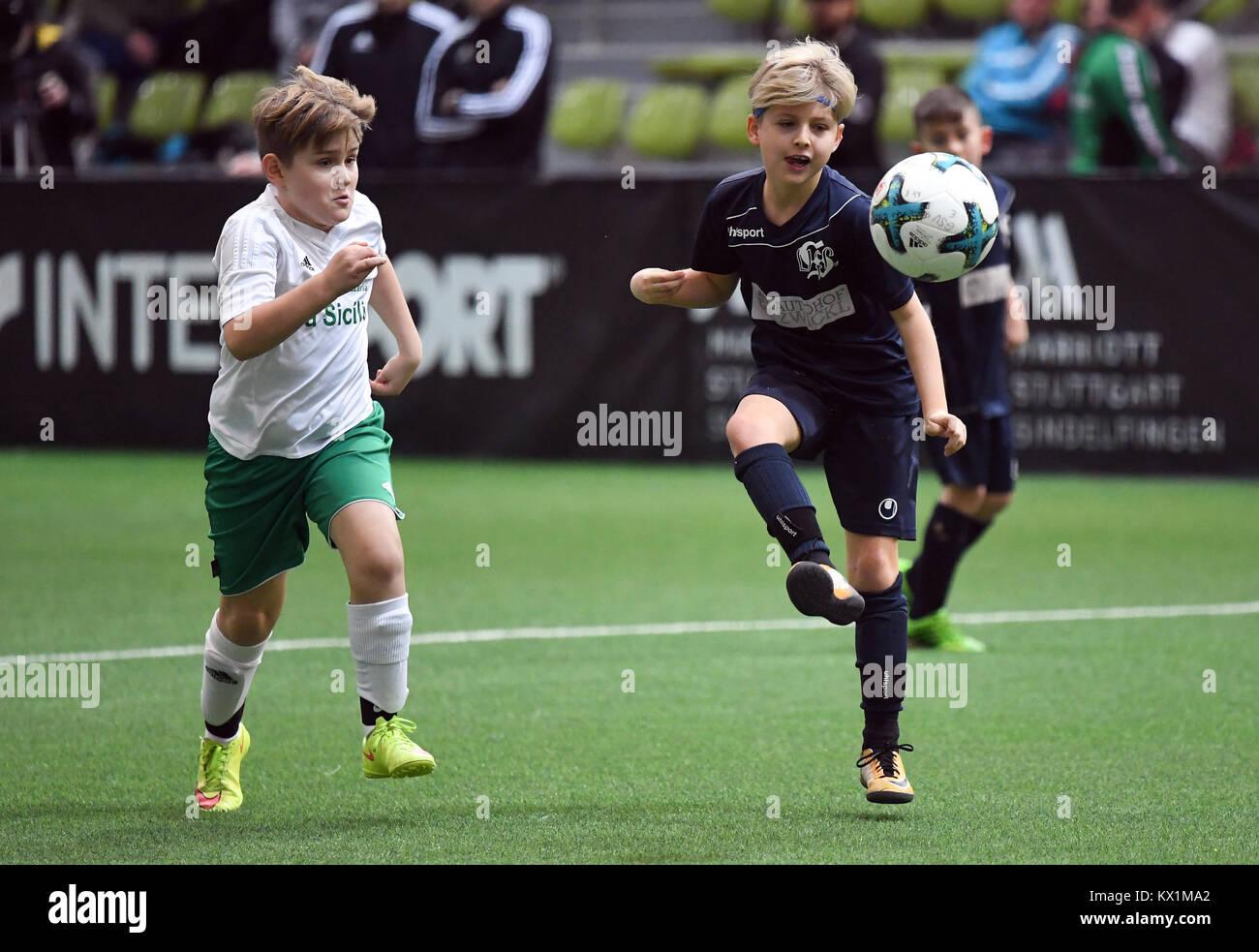 Sindelfingen Deutschland 06th Jan 2018 Einlagespiel E