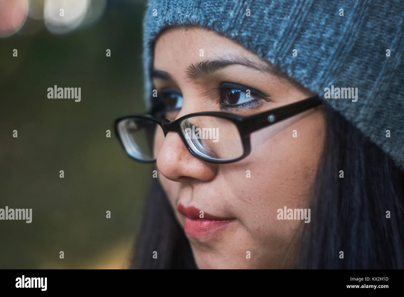 Mature latina bbw with glasses