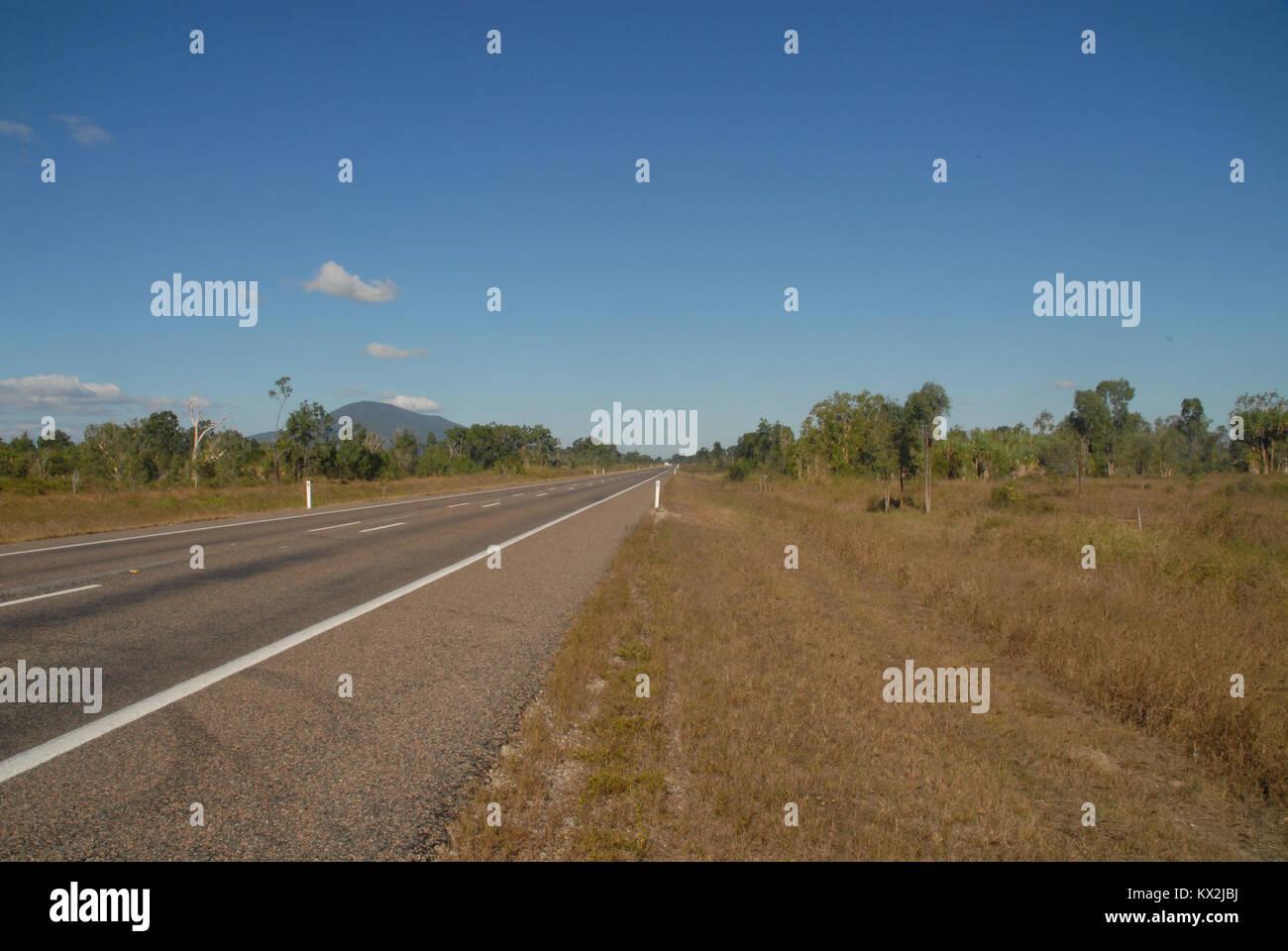 Pacific Highway in Queensland, Australia - Stock Image