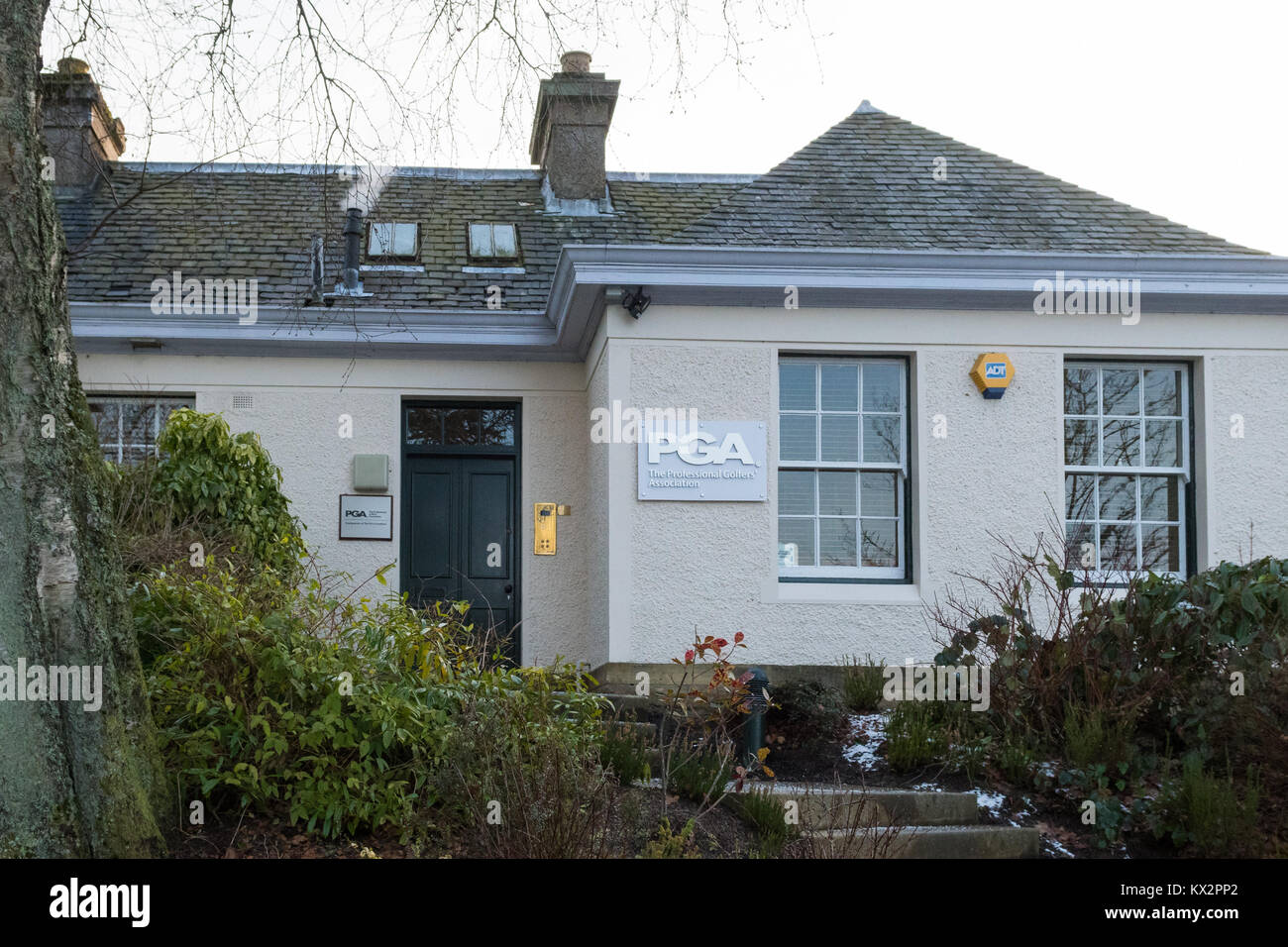 The PGA - Professional Golfers' Association headquarters at Gleneagles, Scotland, UK - Stock Image
