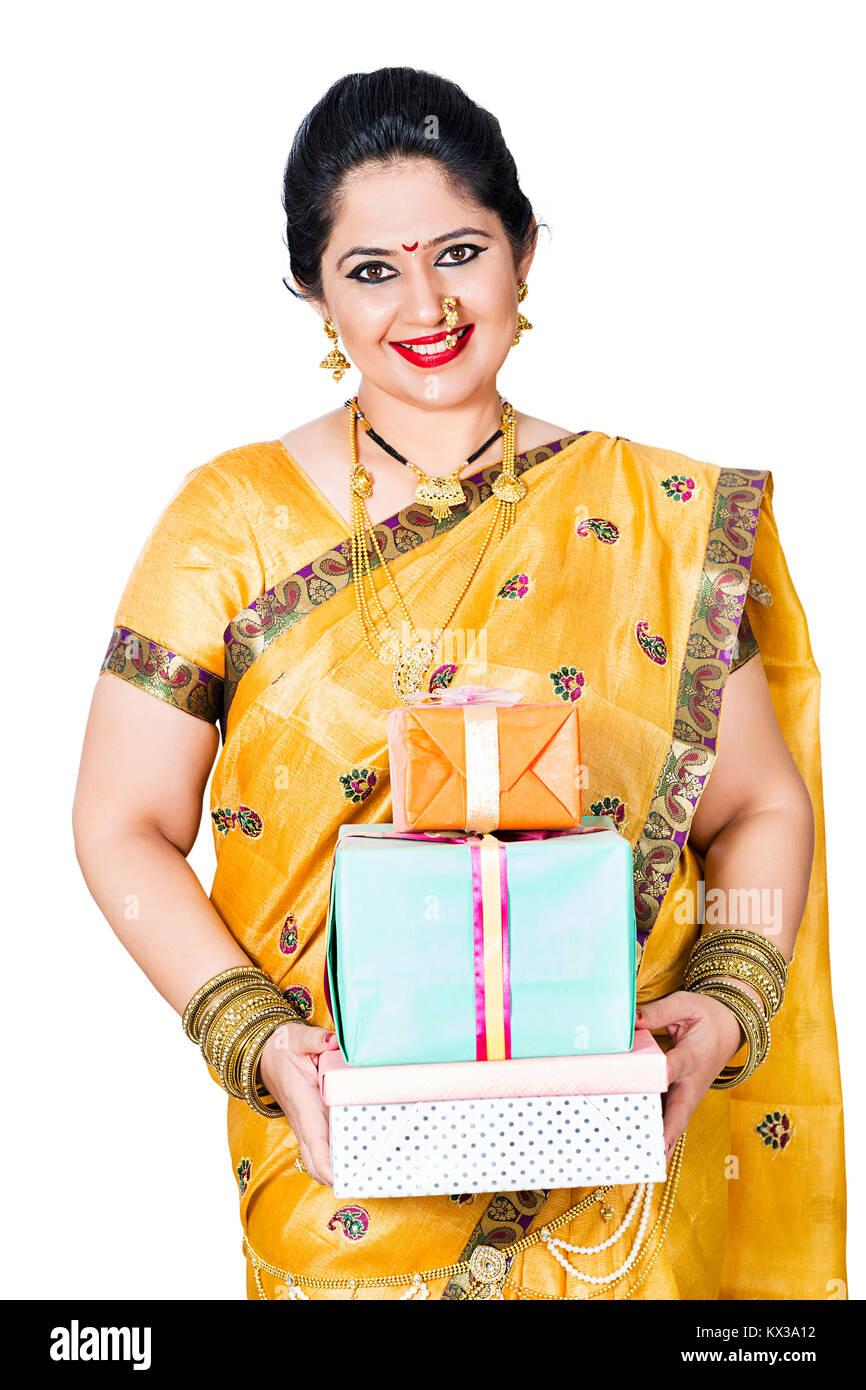 Such marathi ladies on bra congratulate