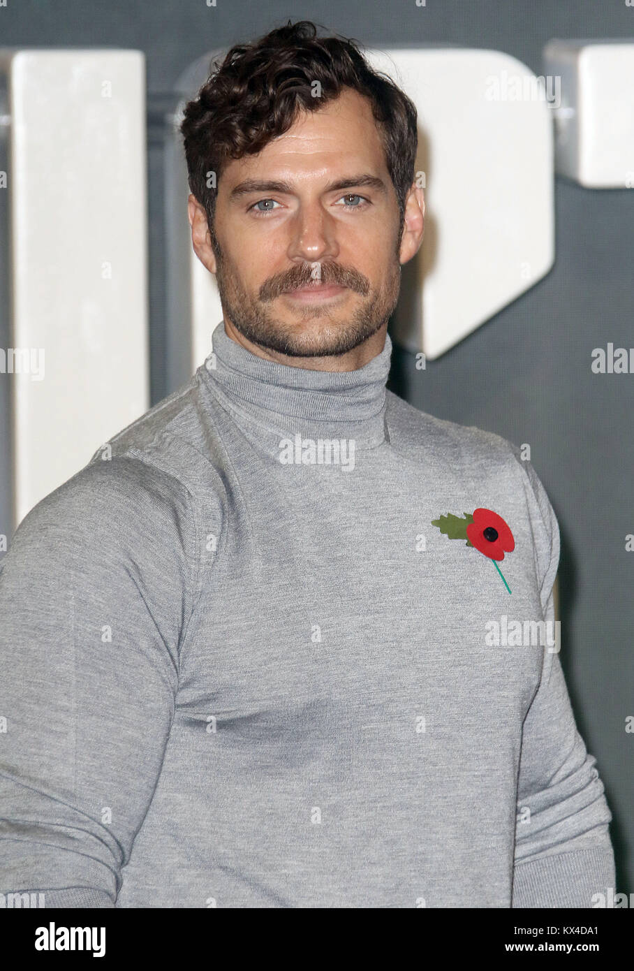 Nov 04, 2017 - Henry Cavill attending 'Justice League' Photocall, The College, Southampton Row in London, - Stock Image