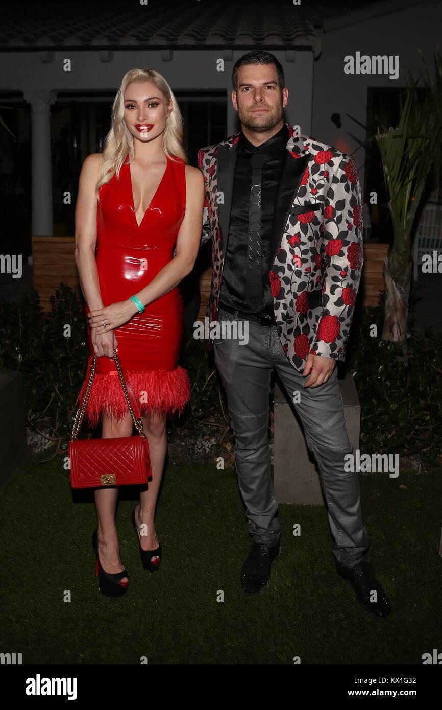 DuJour's Jason Binn hosts the annual kick off to Art Basel Miami Beach with Cover Star Sofia Richie at The Confidante Stock Photo