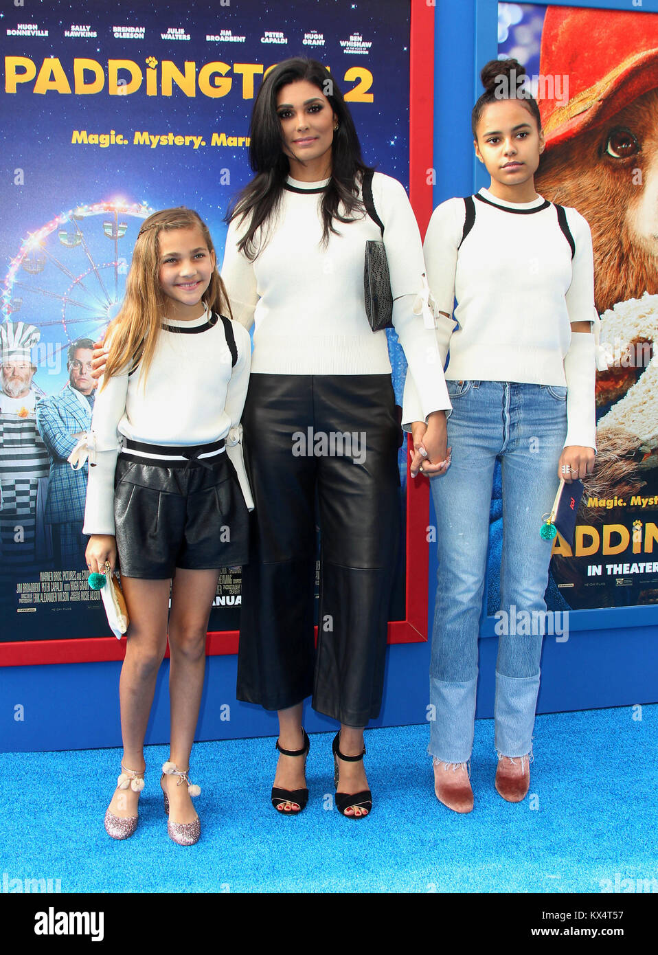 rachel roy and daughters stock photos rachel roy and daughters