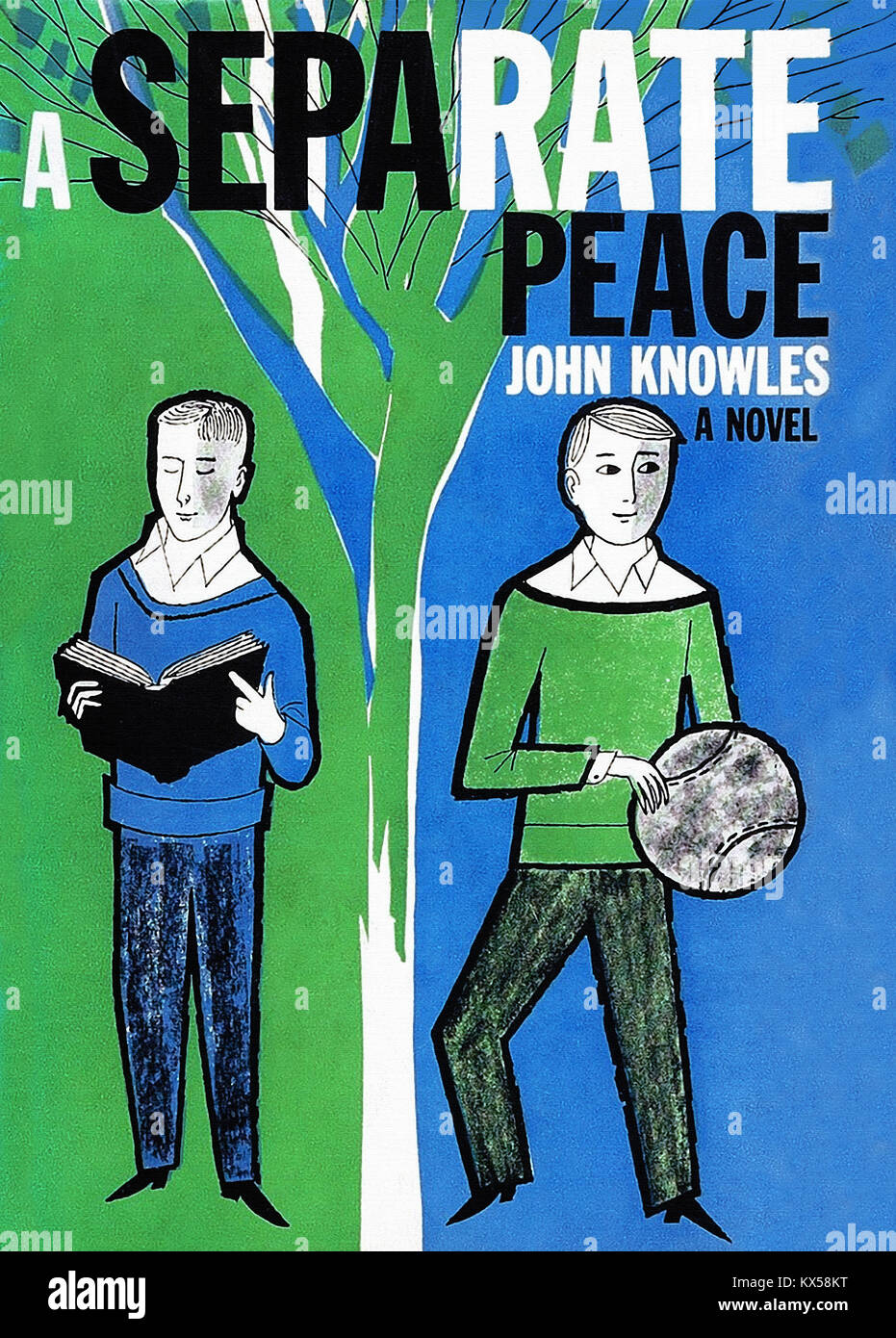 A Separate Peace - Stock Image