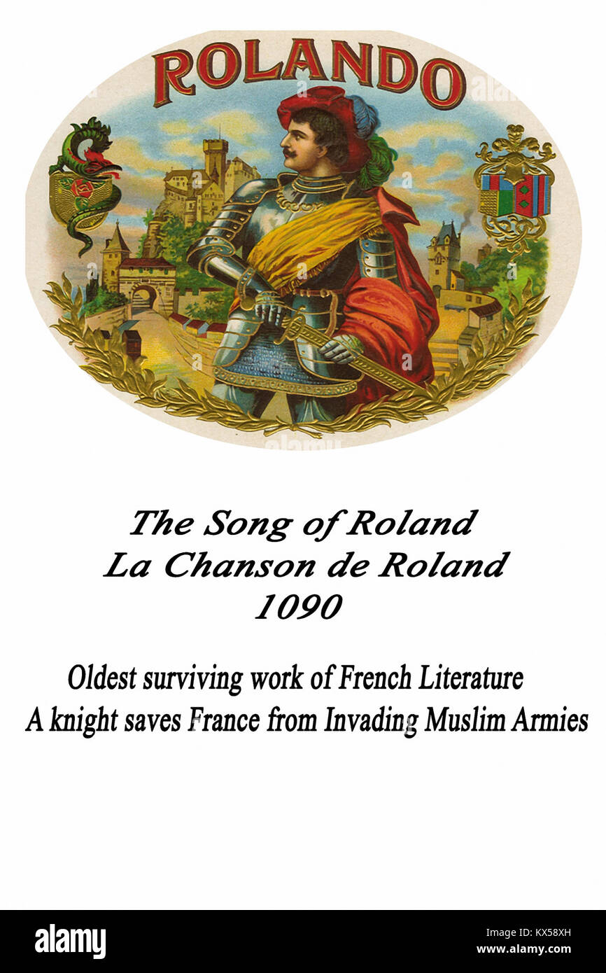 The Song of Roland - Stock Image