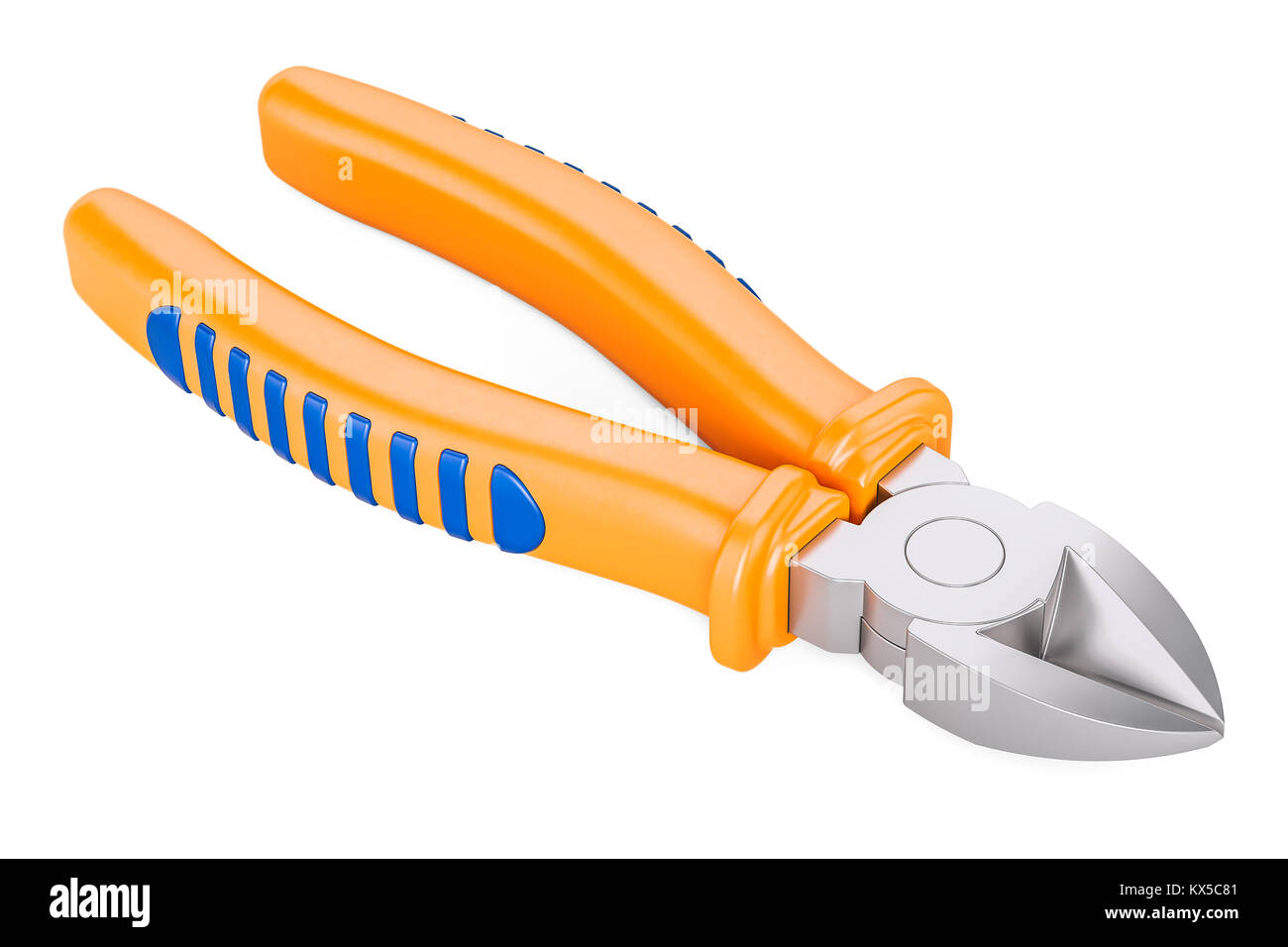 Side Cutting Pliers Stock Photos & Side Cutting Pliers Stock