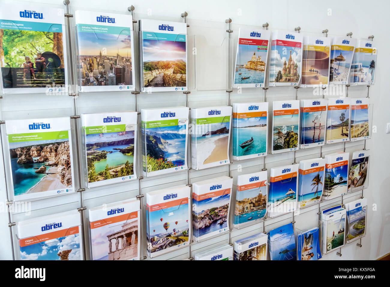 travel agency brochures stock photos travel agency brochures stock