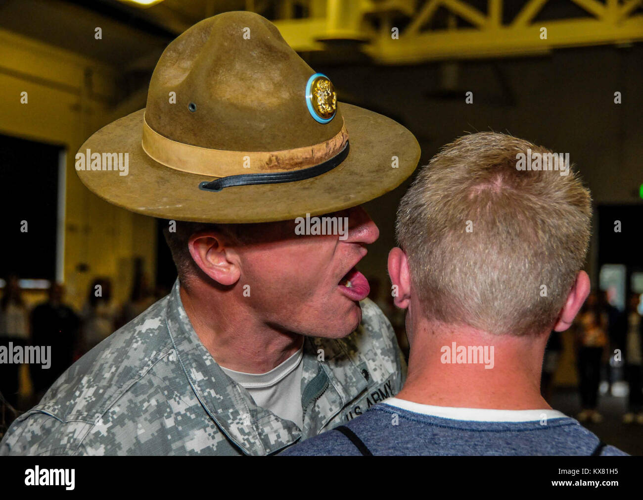 Drill Sergeant Stock Photos & Drill Sergeant Stock Images - Alamy