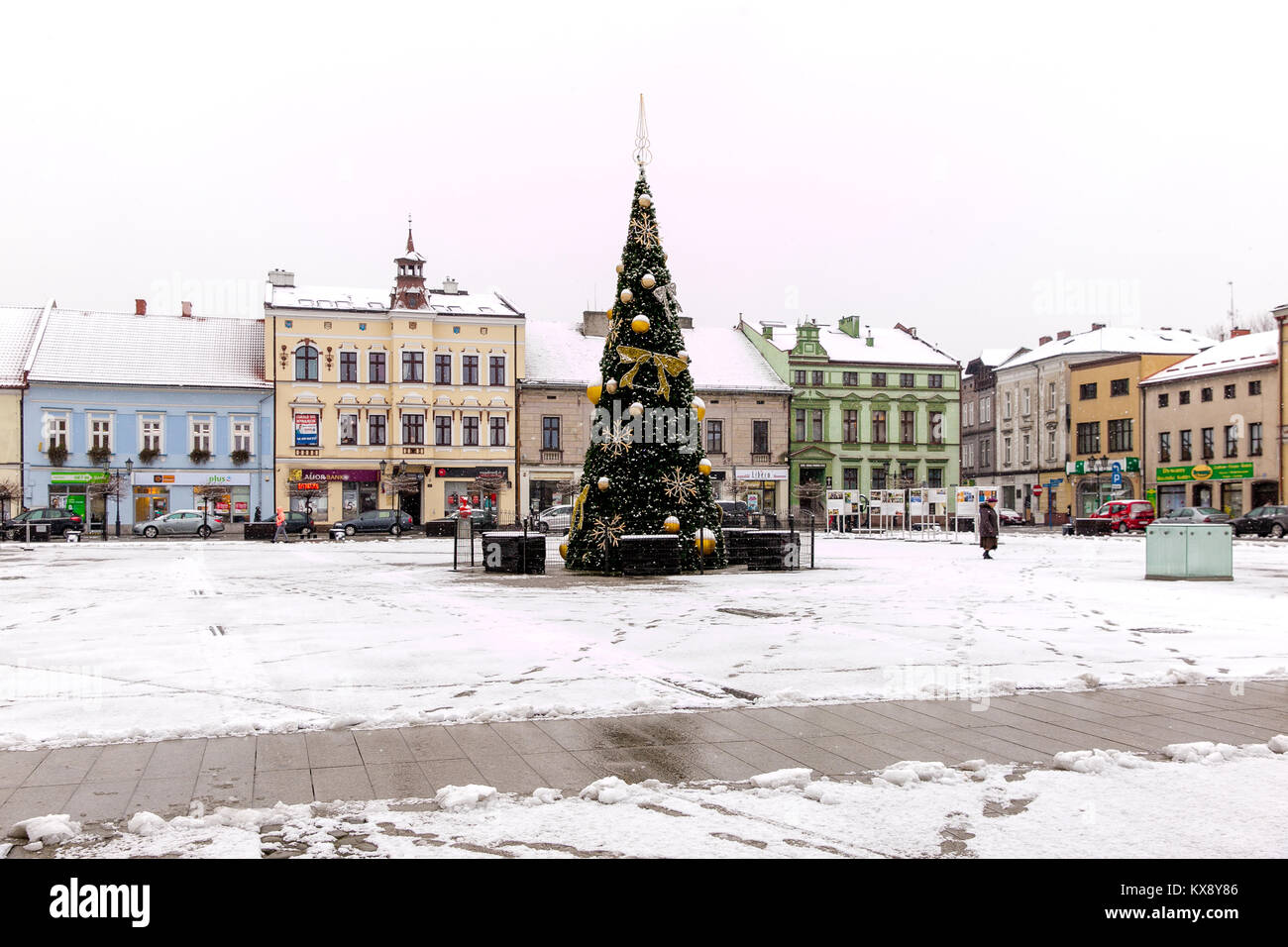Christmas Tree In Historic Stock Photos & Christmas Tree In Historic ...
