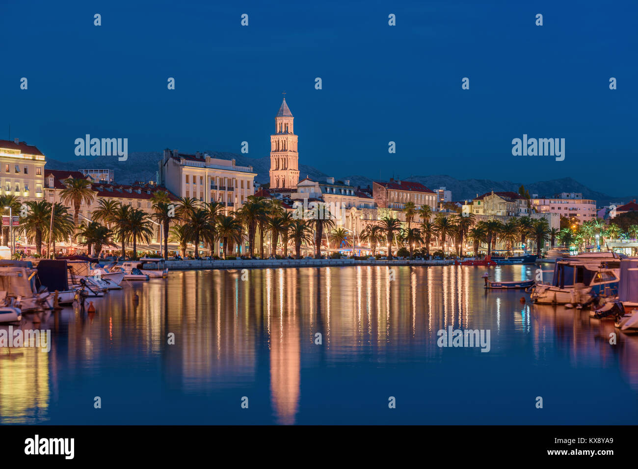 Split City Skyline, CroatiaStock Photo