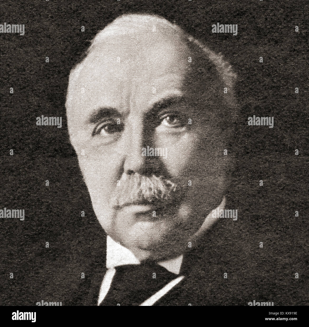 Sir Henry Campbell-Bannerman, 1836 –  1908.  British  Liberal Party statesman and Prime Minister of the United Kingdom. - Stock Image