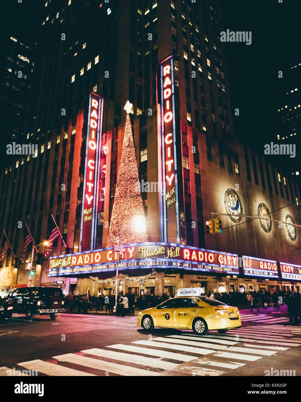 Radio City Music Hall - Stock Image