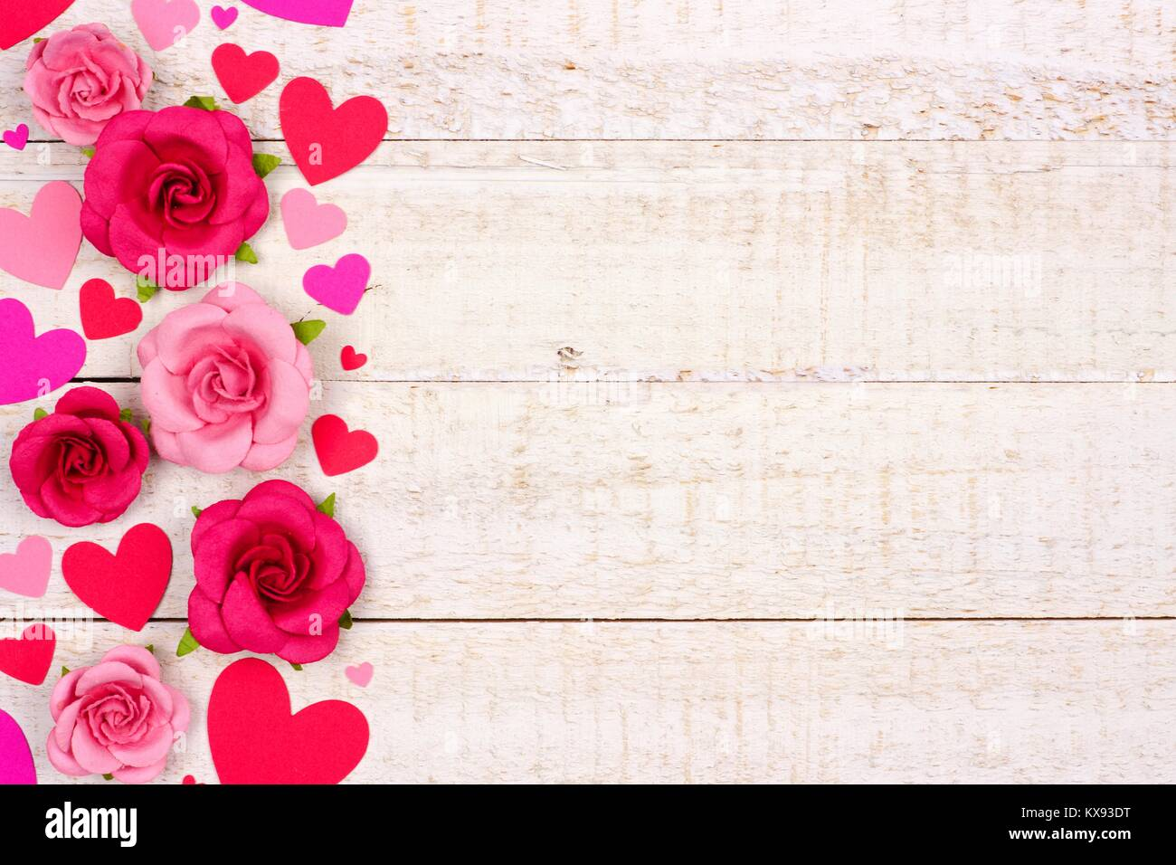 2019 year for lady- Roses pink and hearts