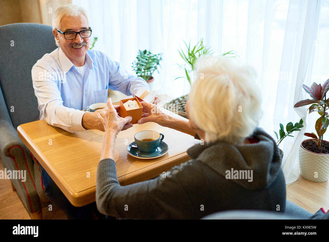 Marriage Proposal - Stock Image
