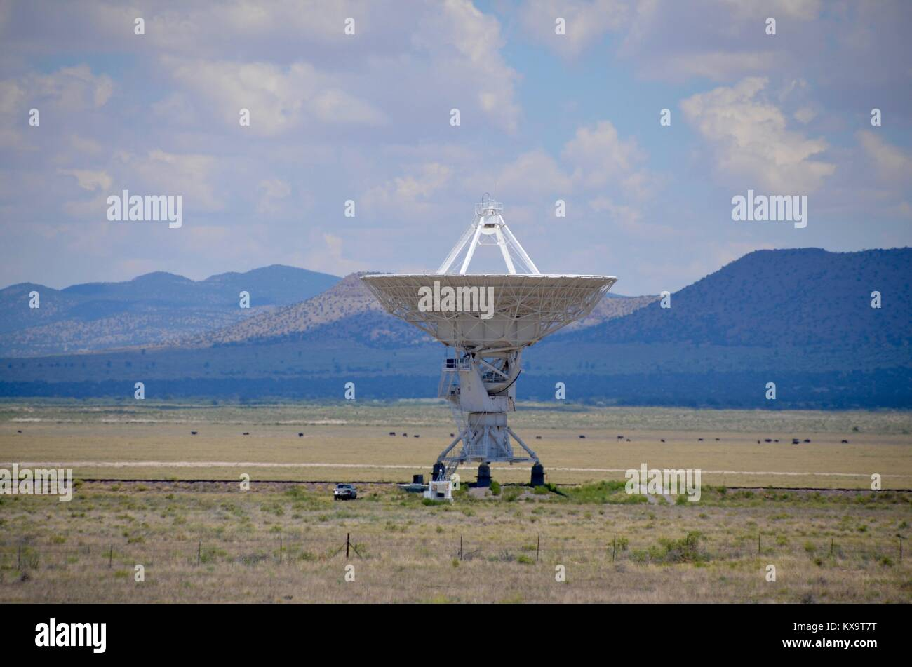 very large array national radio astronomy observatory new mexico USA Stock Photo