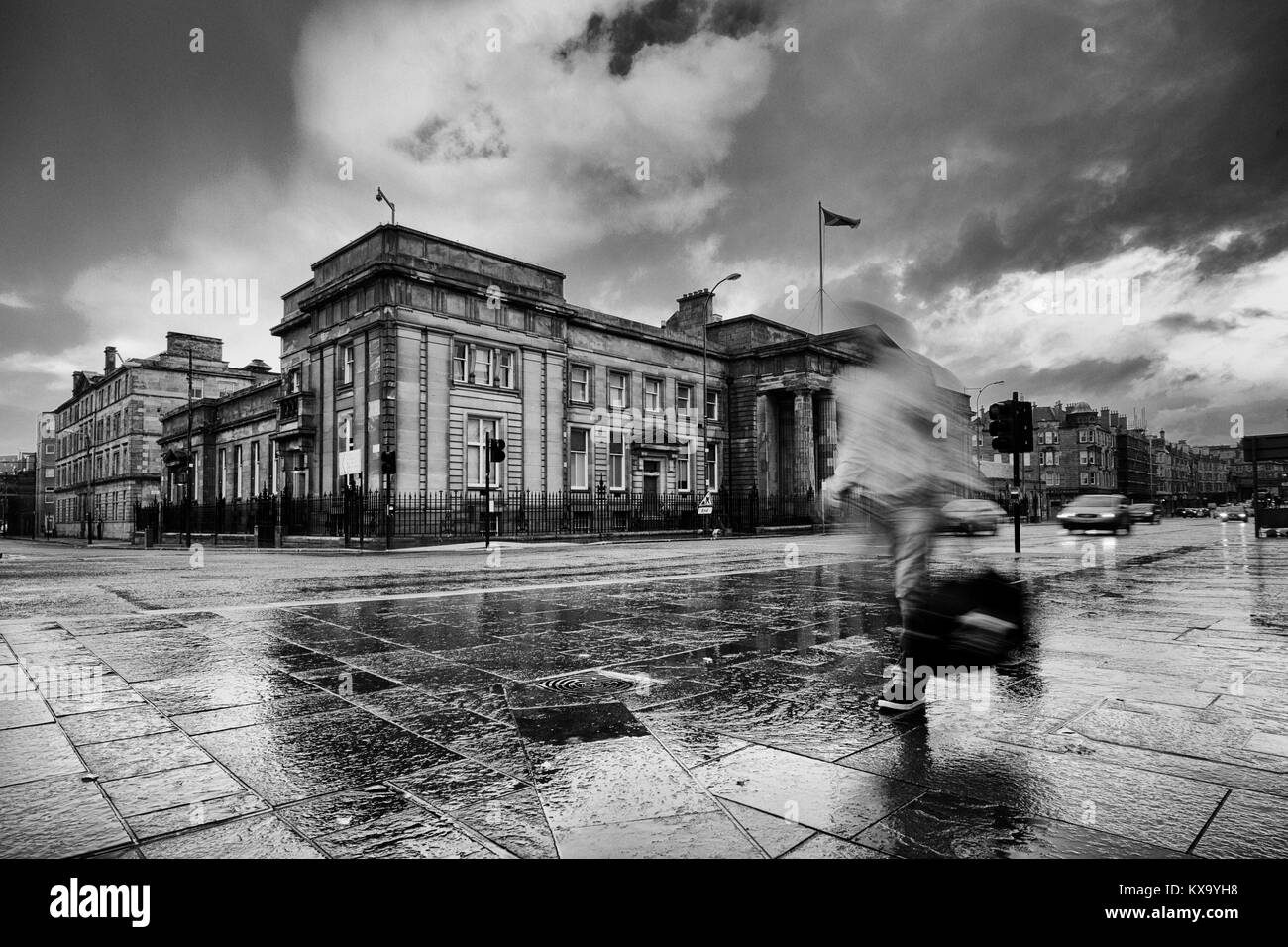24th September 2015  Glasgow, Scotland - Stock Image