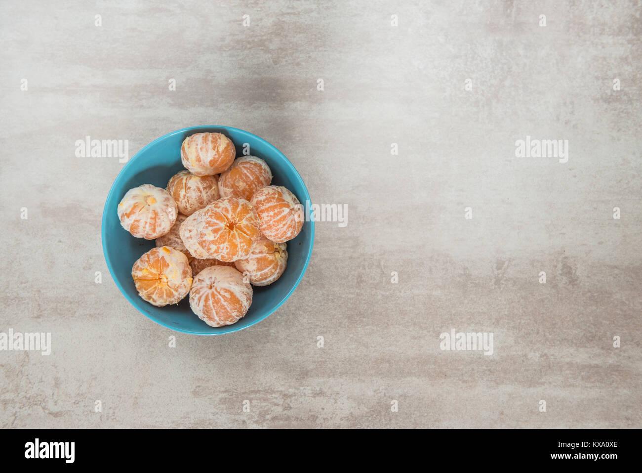 Orange Mandarines, Clementines, Tangerines or small oranges - Stock Image