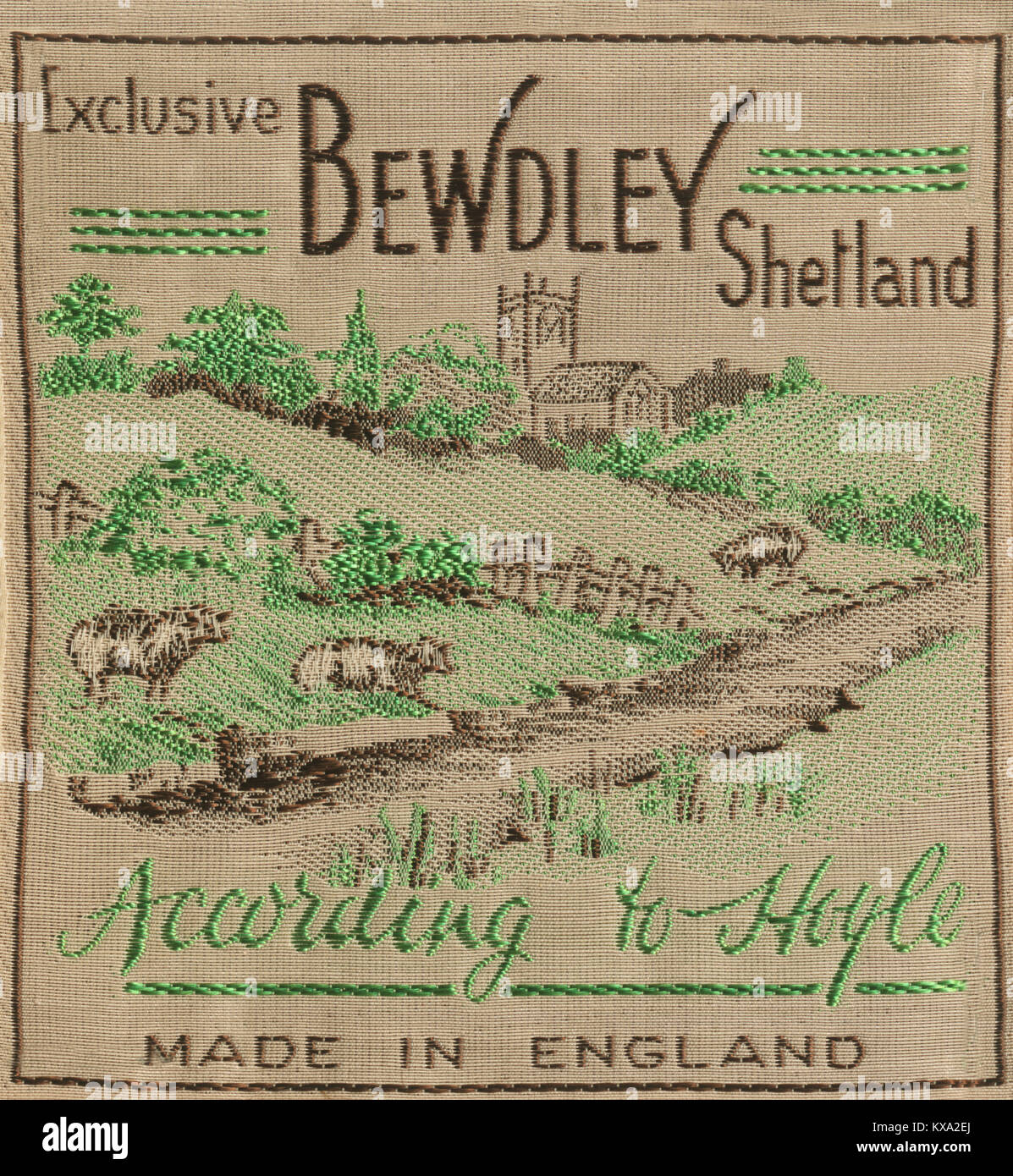 Exclusive Bewdley Shetland - Stock Image