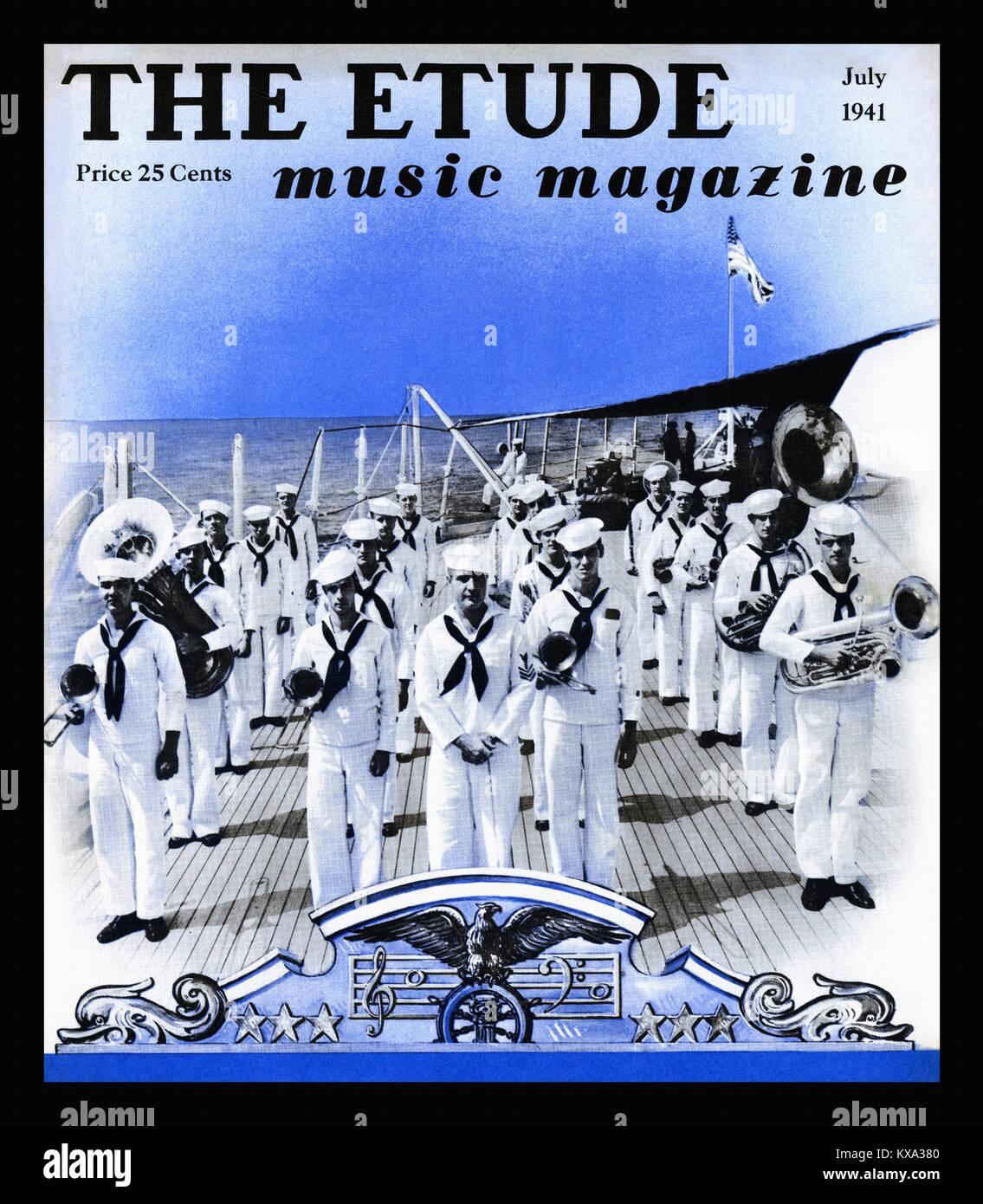 Band of Sailors - Stock Image