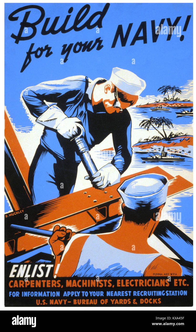His Recruiter Warned Him It Would Be Tough US Navy Seabees Recruiting Poster