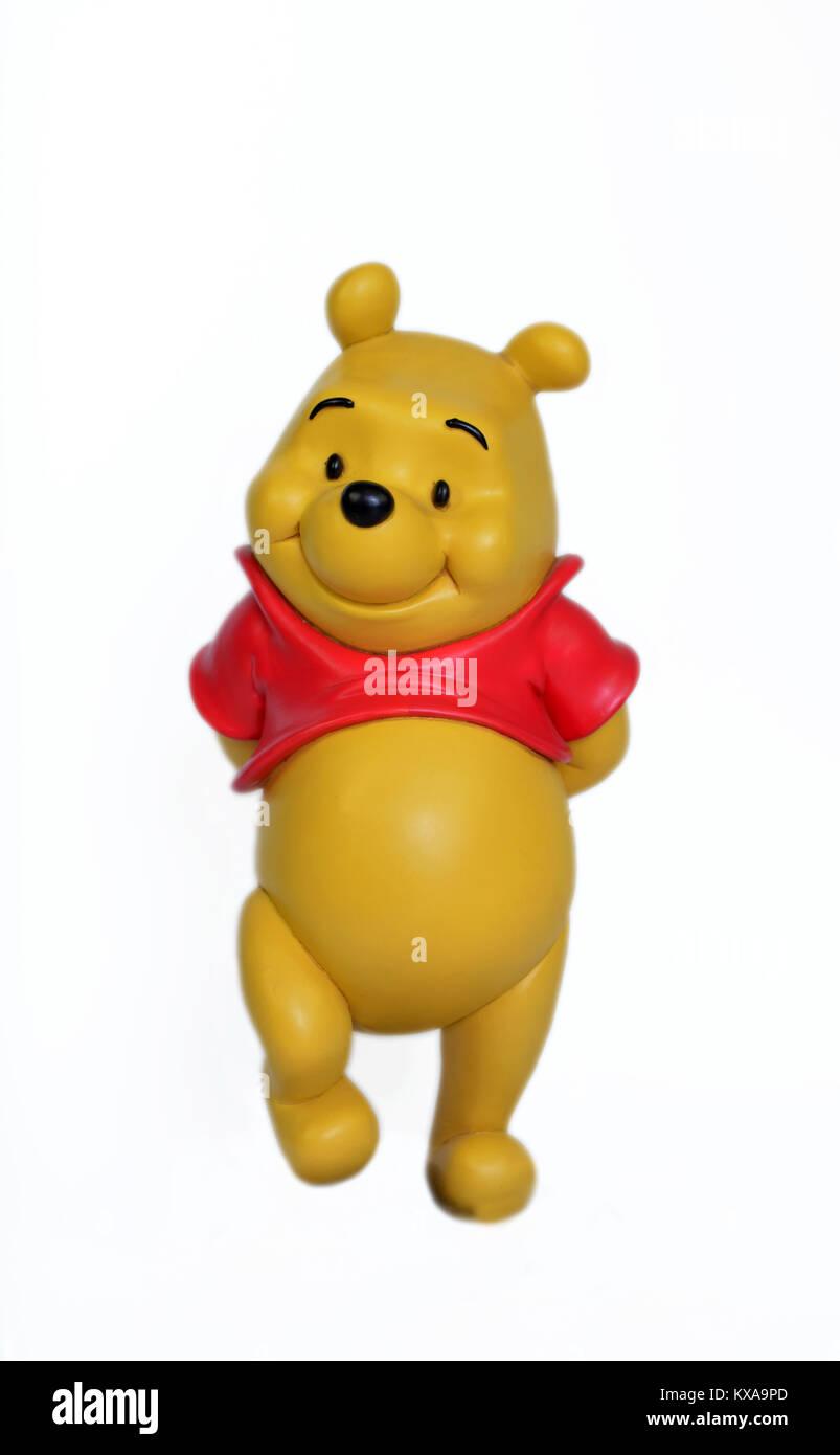 Studio image of Winnie the Pooh - Stock Image