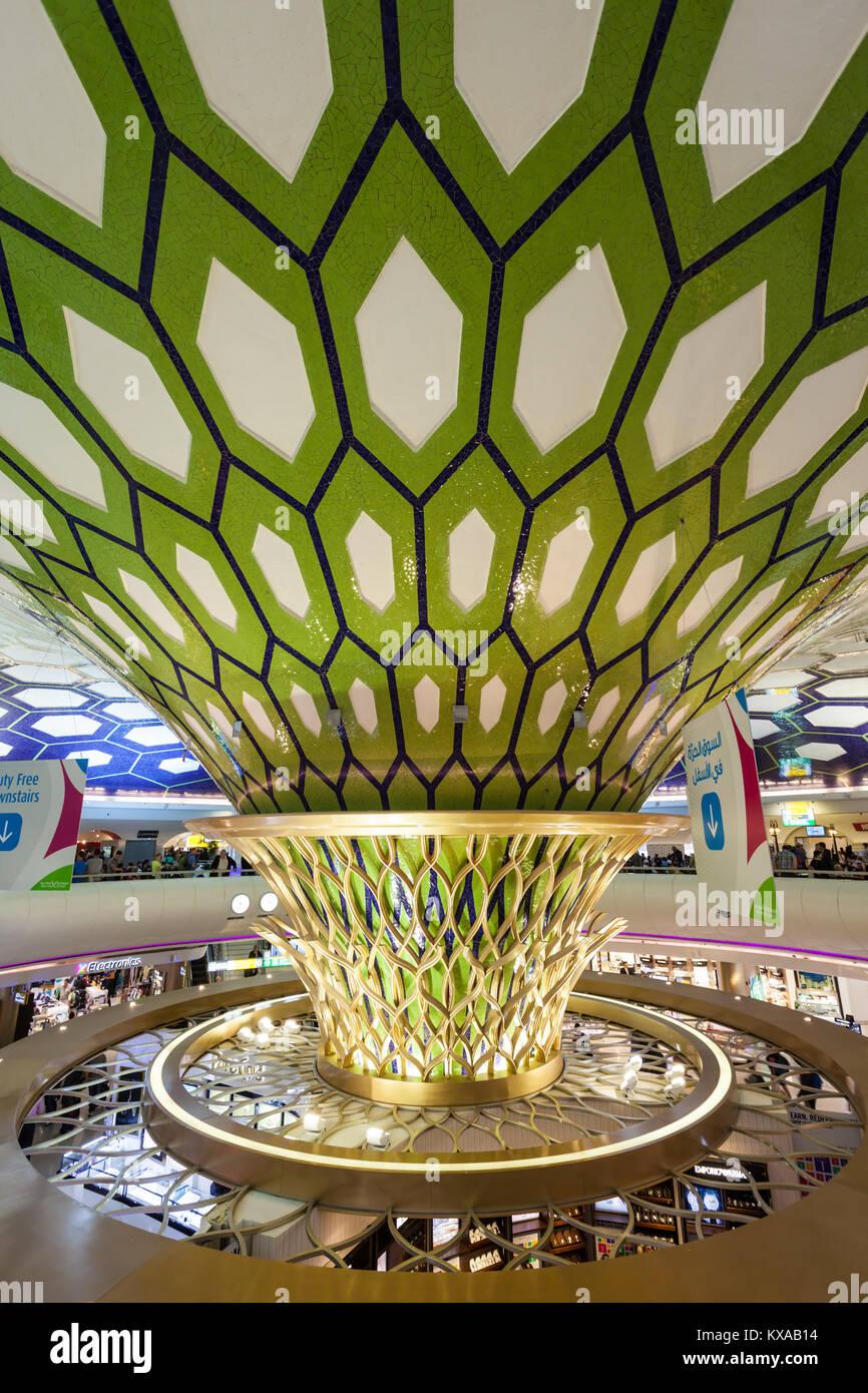 Dubai international airport interior departure stock for International decor company abu dhabi