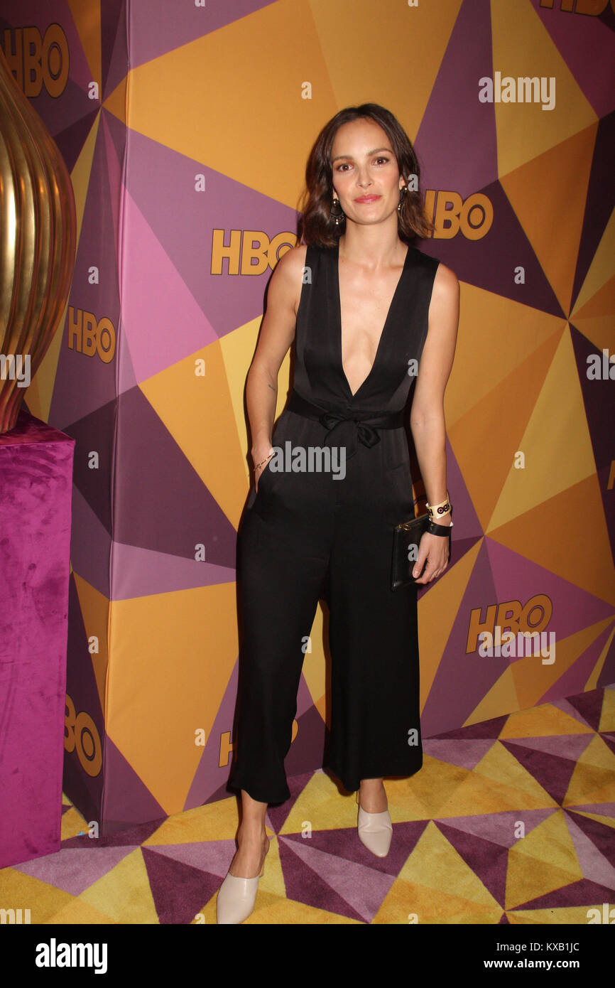 Jodi Balfour  01/07/2018 The 75th Annual Golden Globe Awards HBO After Party held at the Circa 55 Restaurant at Stock Photo