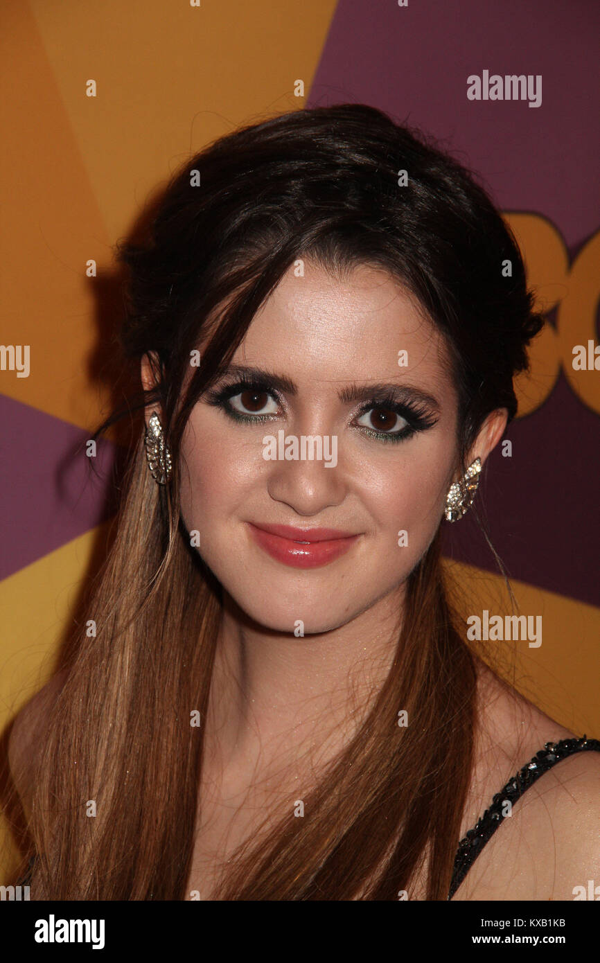Laura Marano  01/07/2018 The 75th Annual Golden Globe Awards HBO After Party held at the Circa 55 Restaurant at Stock Photo