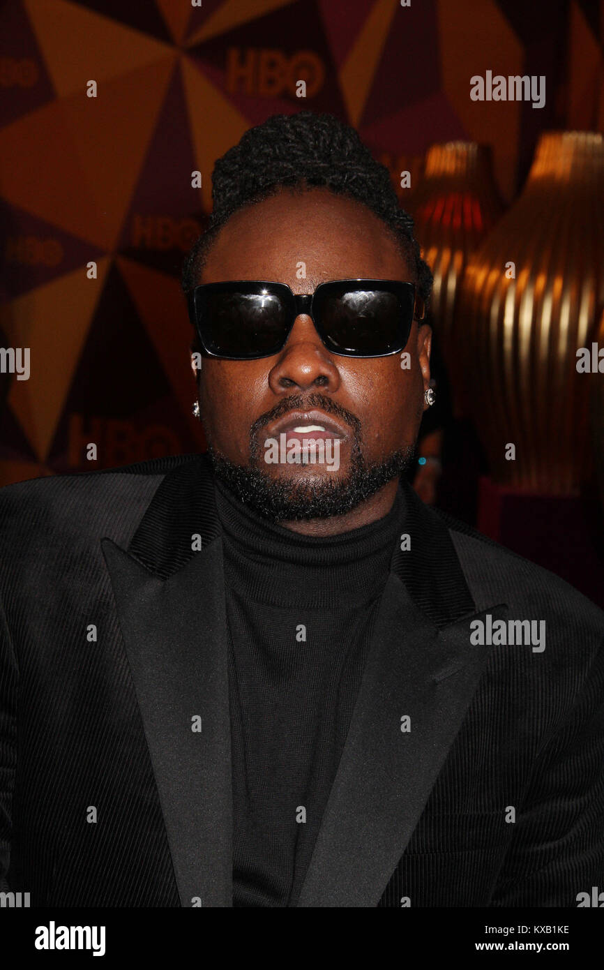 Wale  01/07/2018 The 75th Annual Golden Globe Awards HBO After Party held at the Circa 55 Restaurant at The Beverly Stock Photo