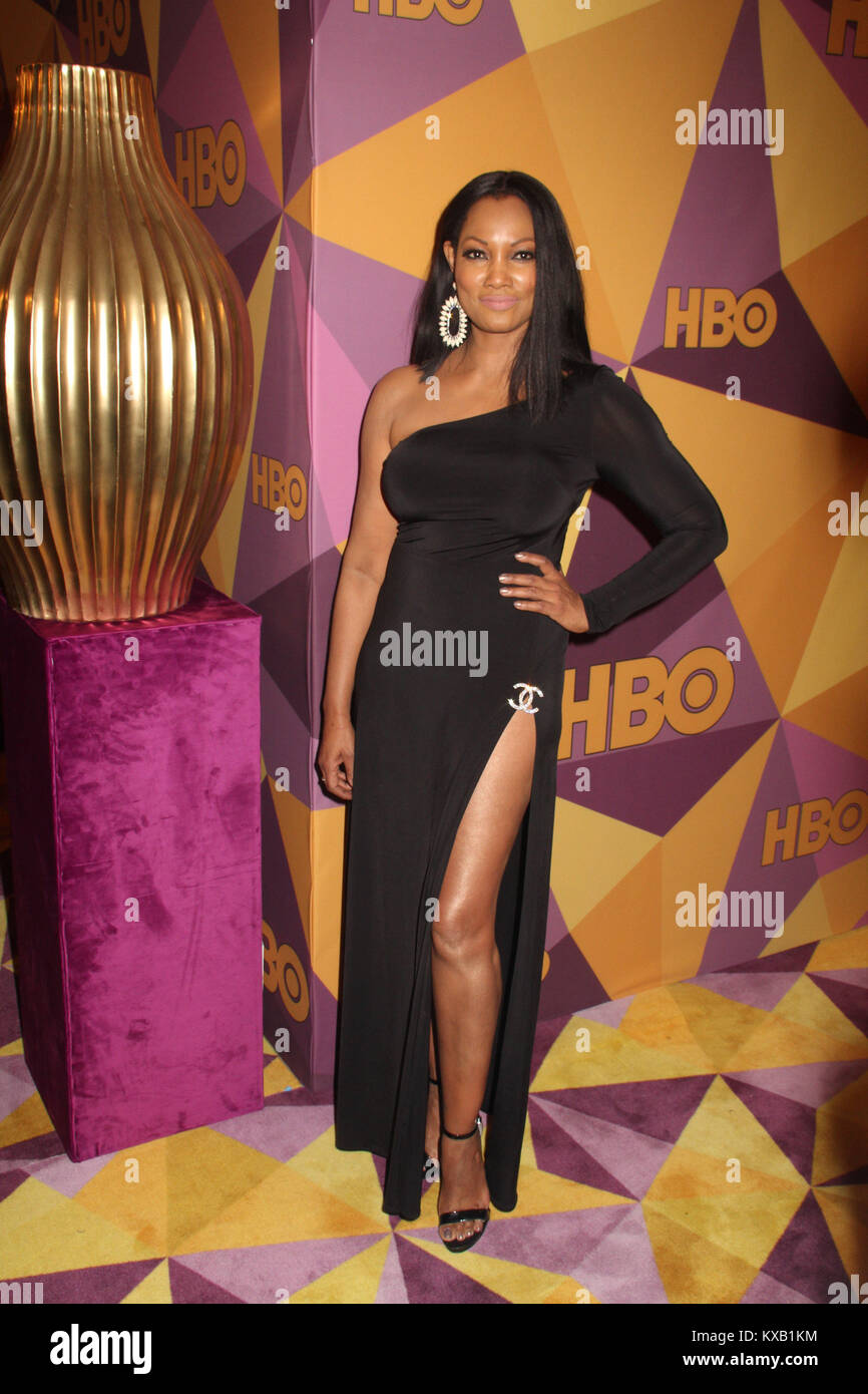 Garcelle Beauvais  01/07/2018 The 75th Annual Golden Globe Awards HBO After Party held at the Circa 55 Restaurant Stock Photo