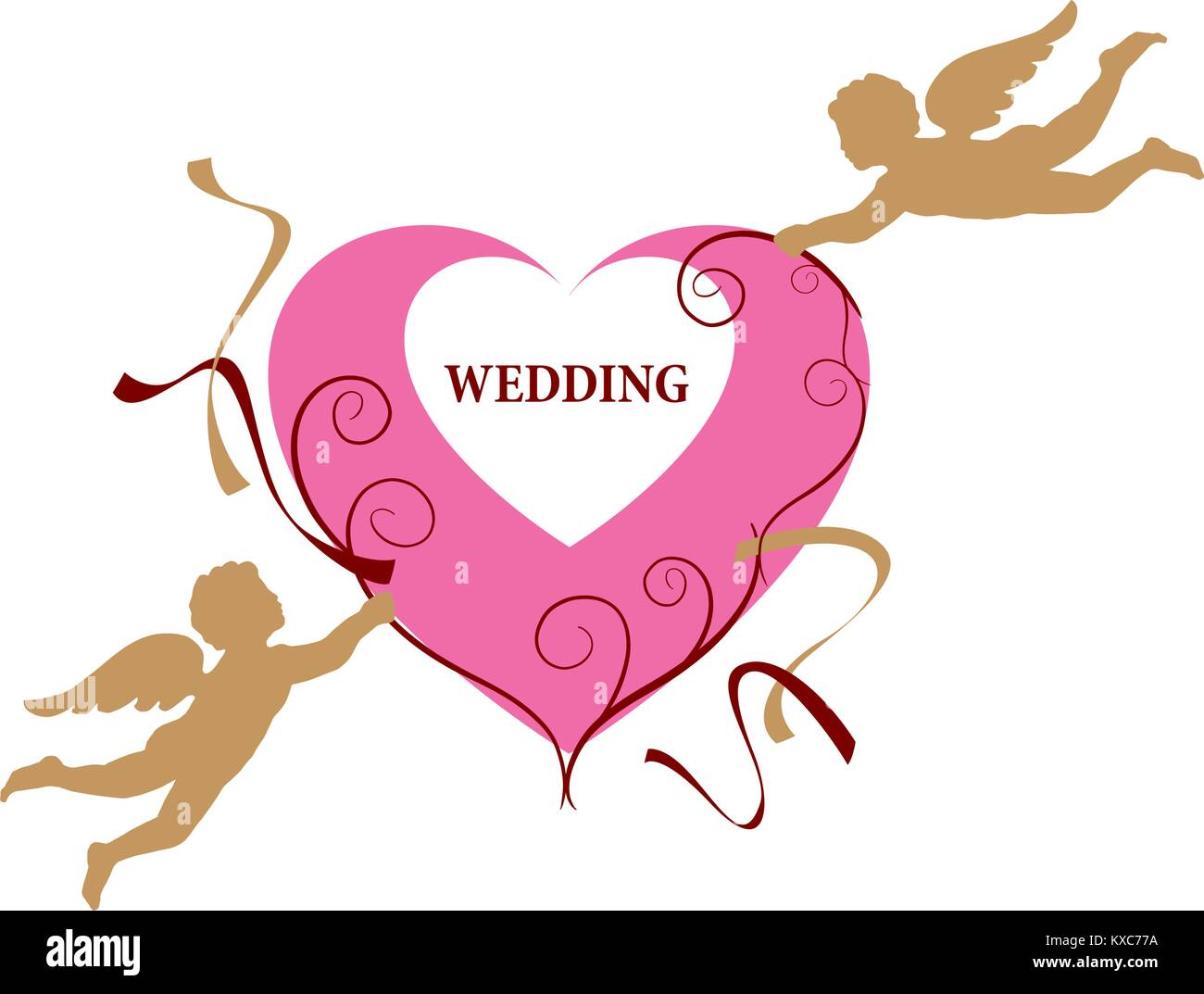Wedding Rings Stock Vector Images - Alamy