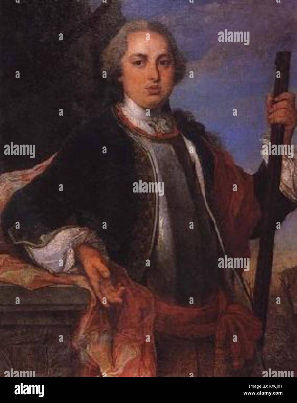 Vieira Lusitano - D. Lourenço de Lencastre - Stock Image