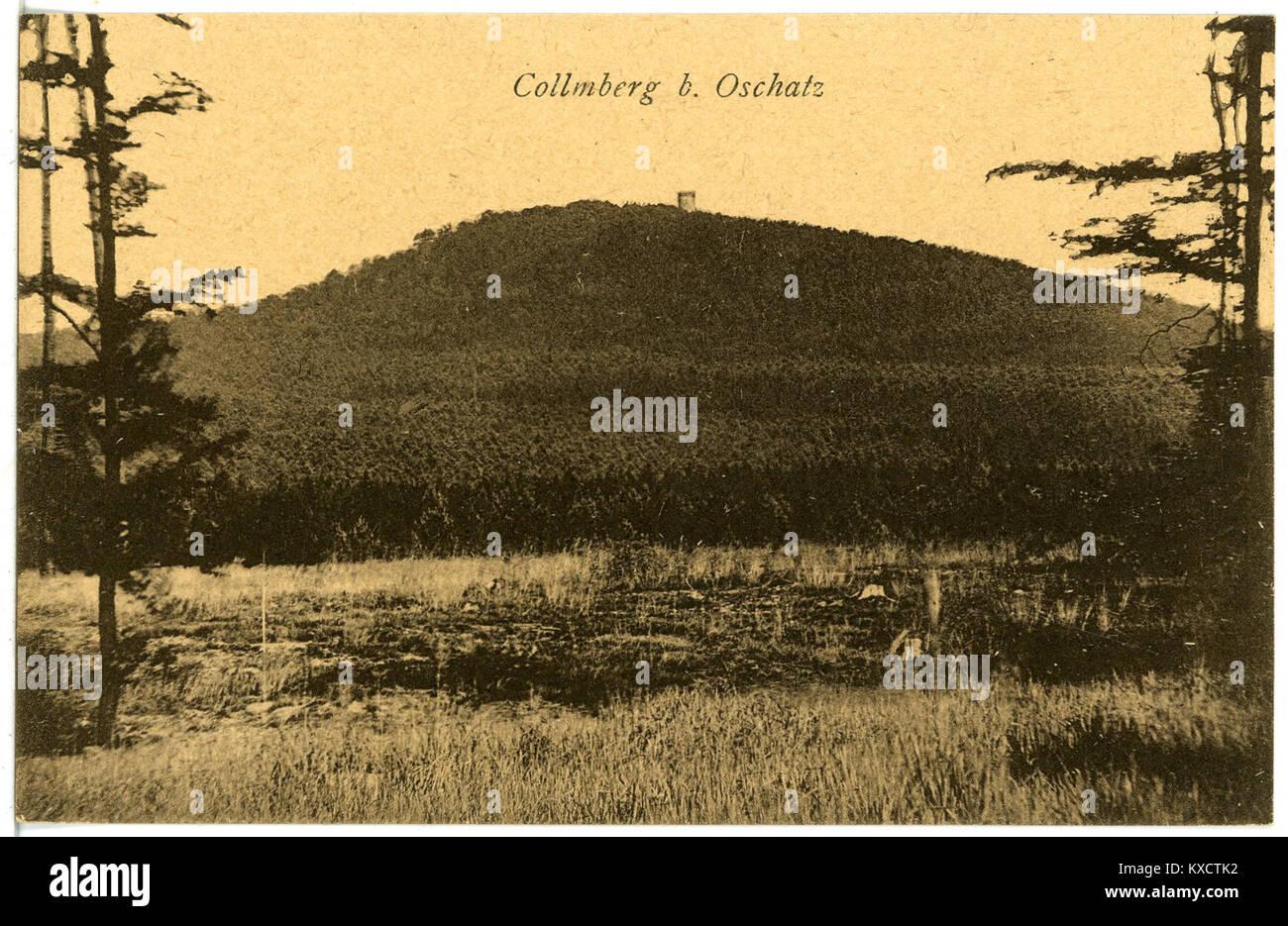 21681-Collm-1920-Collmberg-Brück & Sohn Kunstverlag Stock Photo