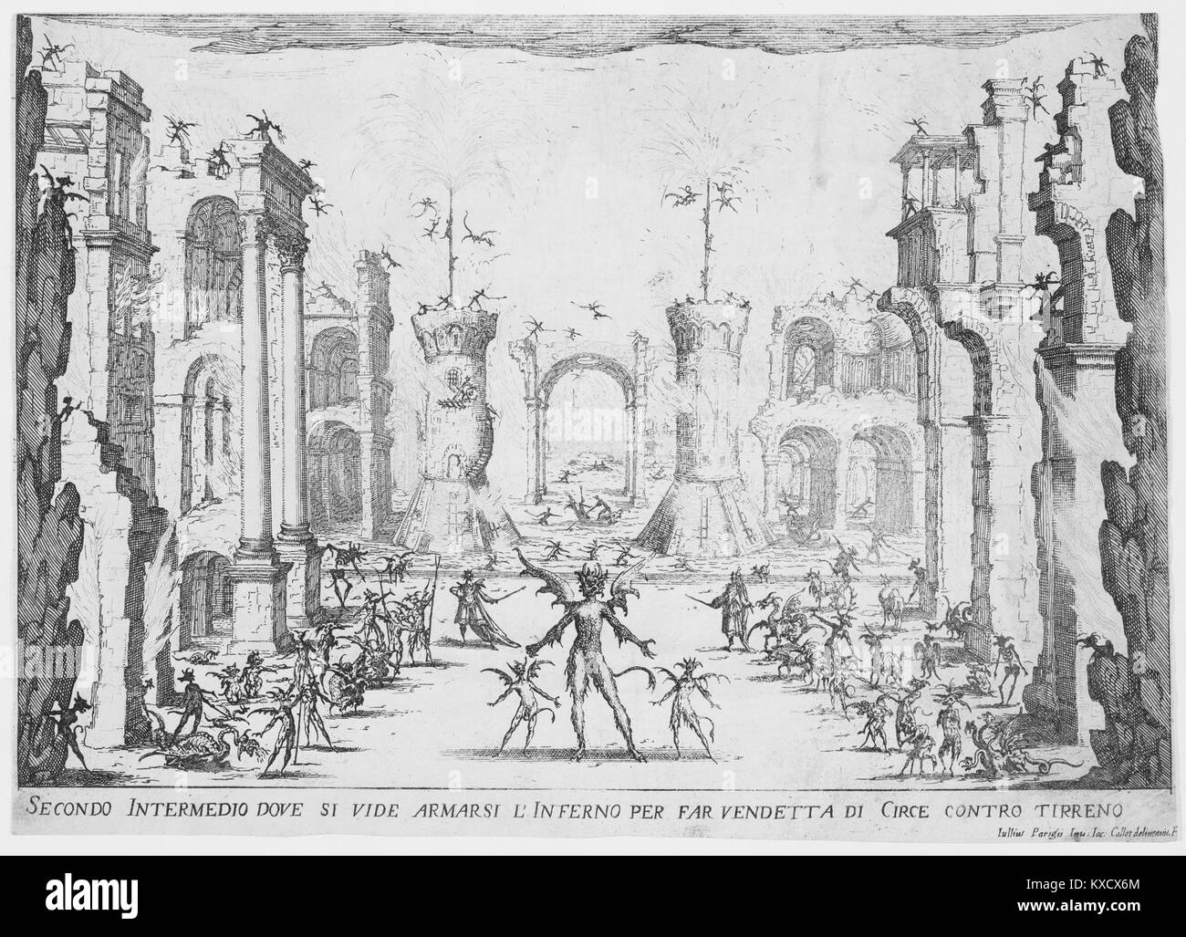 2e Intermède (2nd Interlude), from Les Intermèdes (The Interludes) MET MM63973 - Stock Image