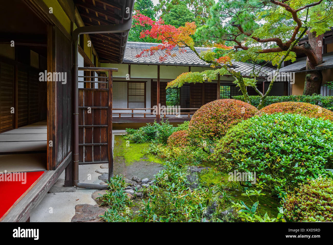 Koto-in Temple in Kyoto, Japan  KYOTO, JAPAN - OCTOBER 22: Koto-in Temple in Kyoto, Japan on October 22, 2014. One - Stock Image