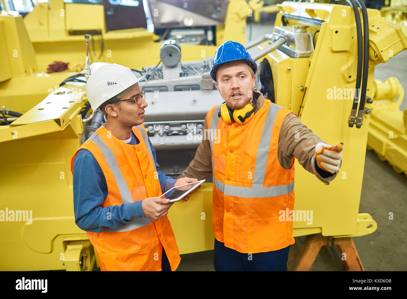 Colleagues Solving Faced Issue Together - Stock Image