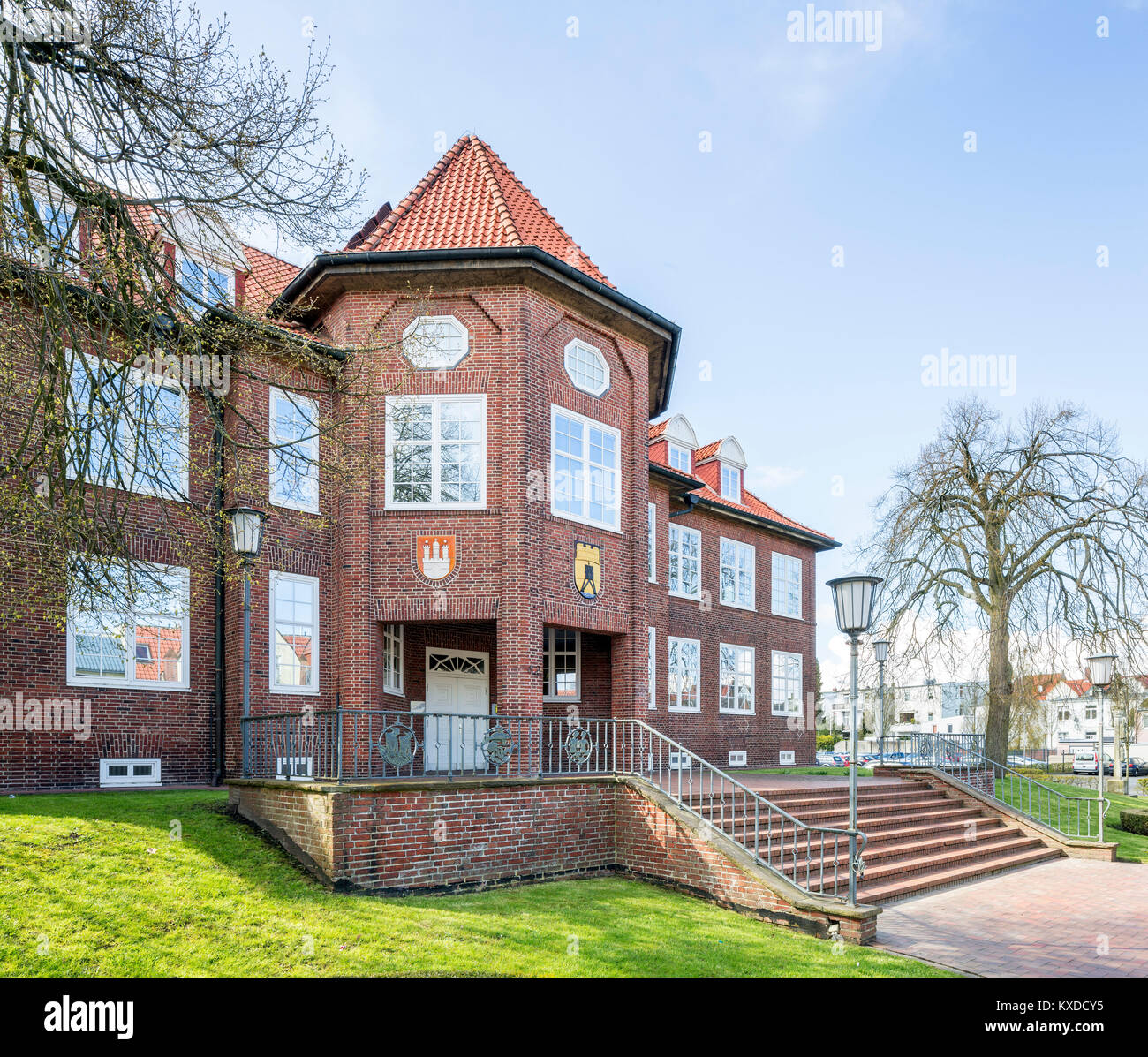 City Hall,Cuxhaven,Lower Saxony,Germany - Stock Image