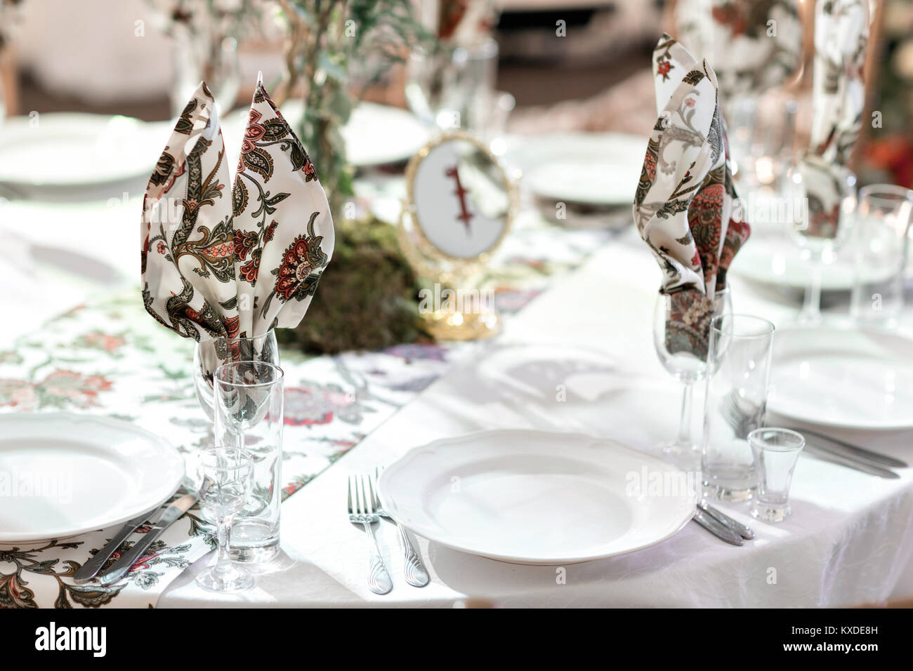 Banquet Hall Dinner Party Stock Photos & Banquet Hall Dinner Party ...