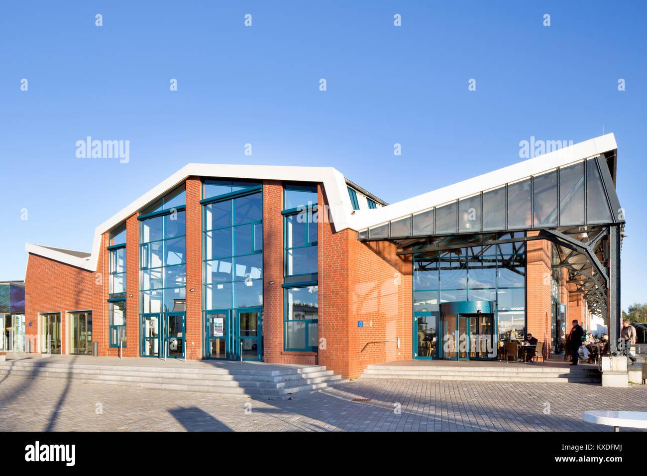 Maritime experience world,fishing port,Bremerhaven,Bremen,Germany - Stock Image