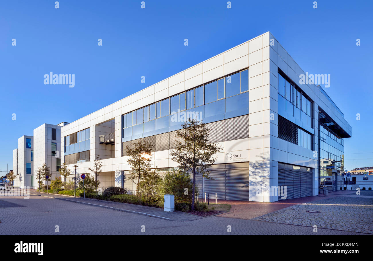 Biotechnology Centre,BTZ,research focus on marine biotechnology and food technology,Bremerhaven,Bremen,Germany - Stock Image