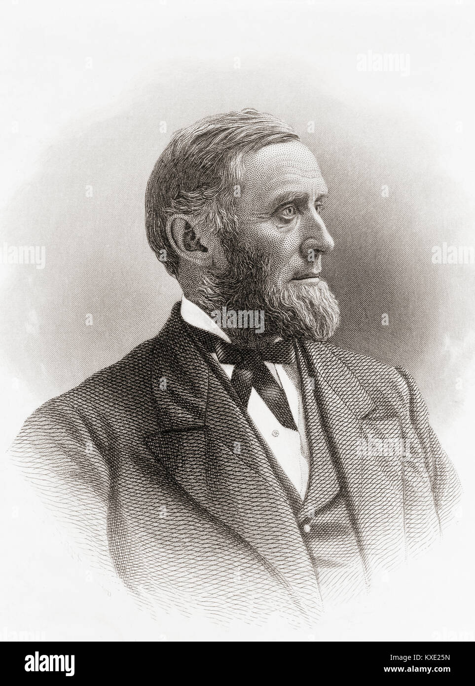 Charles Carleton Coffin, 1823-1896.  American journalist, author, politician.  As a correspondent he covered many - Stock Image