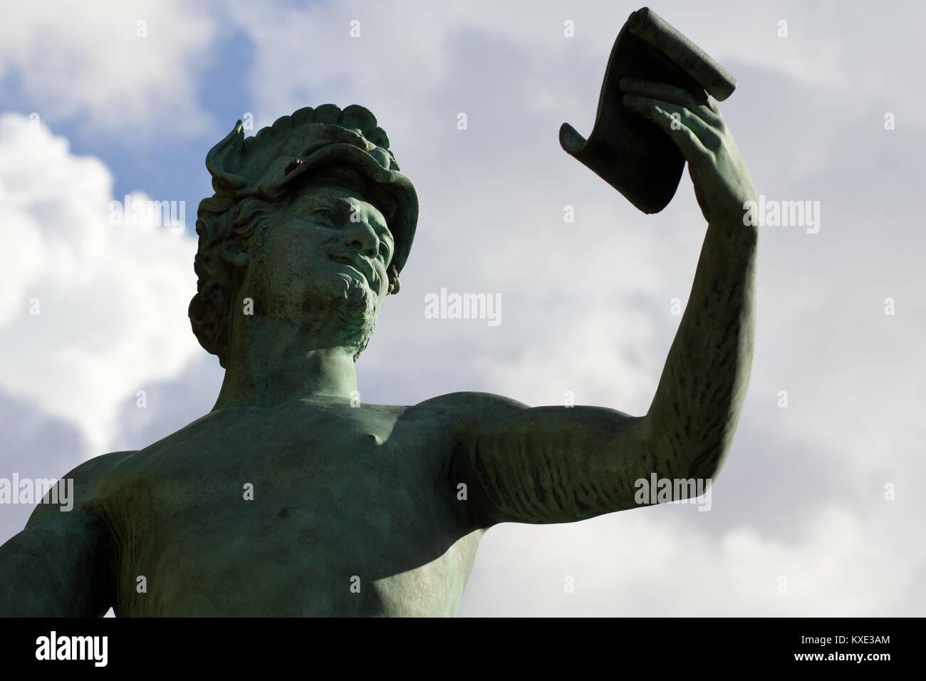 The Greek Actor - Jardin Du Luxembourg - Paris - Stock Image
