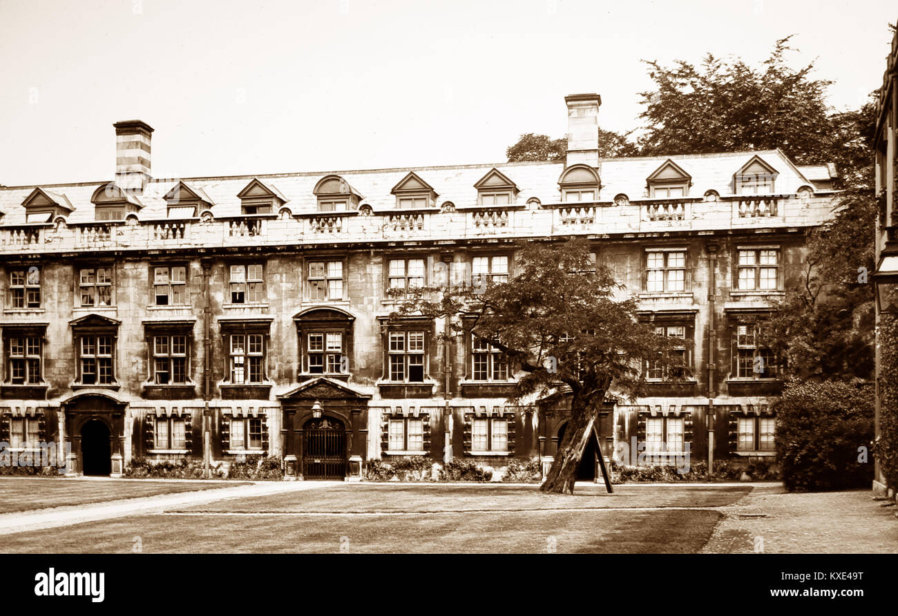 Fellows Building, Christ's College, Cambridge, Victorian period - Stock Image