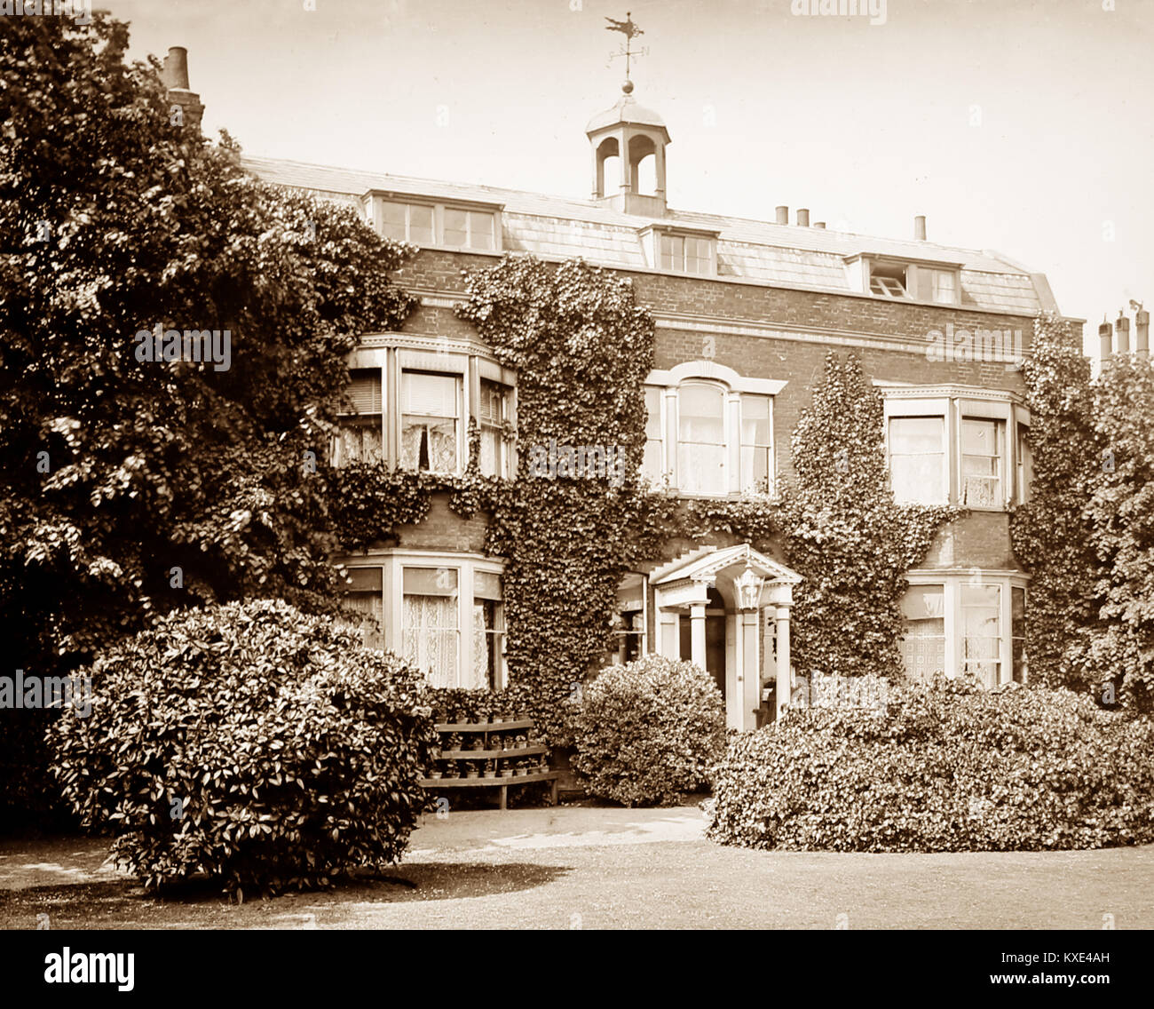 Gads Hill Place, Higham, Victorian period - Stock Image